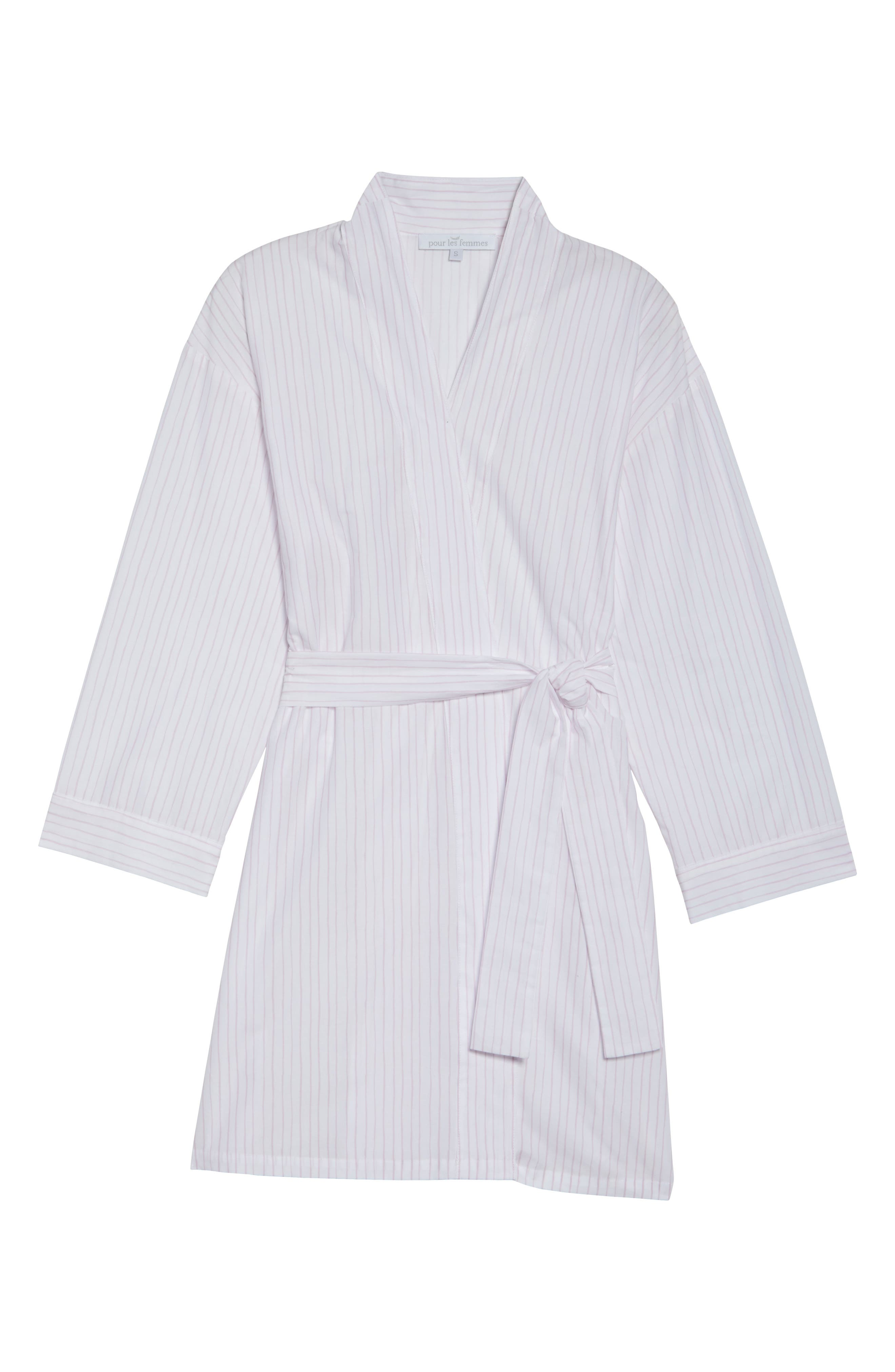 Alternate Image 4  - Pour Les Femmes Stripe Robe