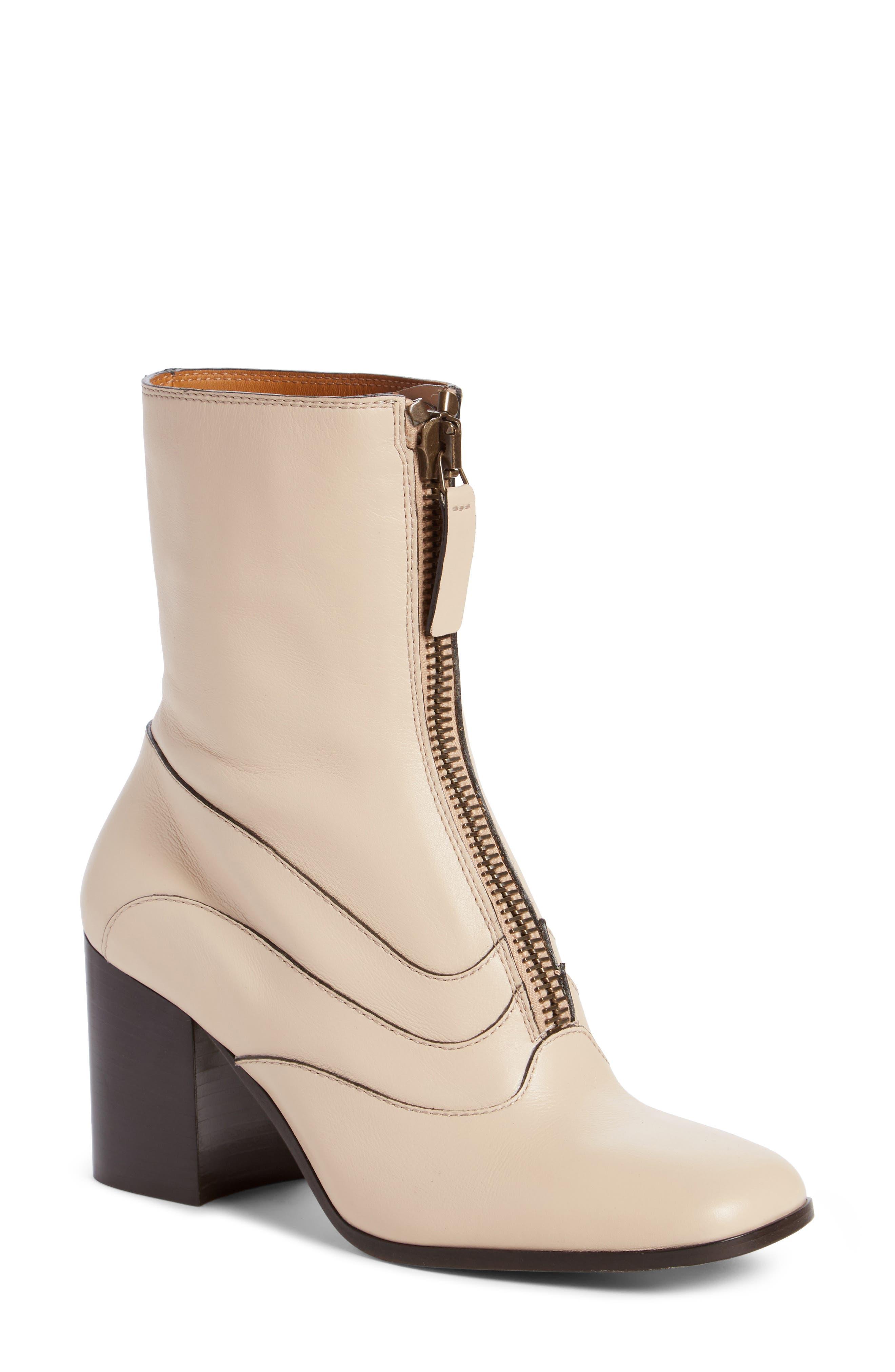 Main Image - Chloé Qacey Square Toe Boot (Women)