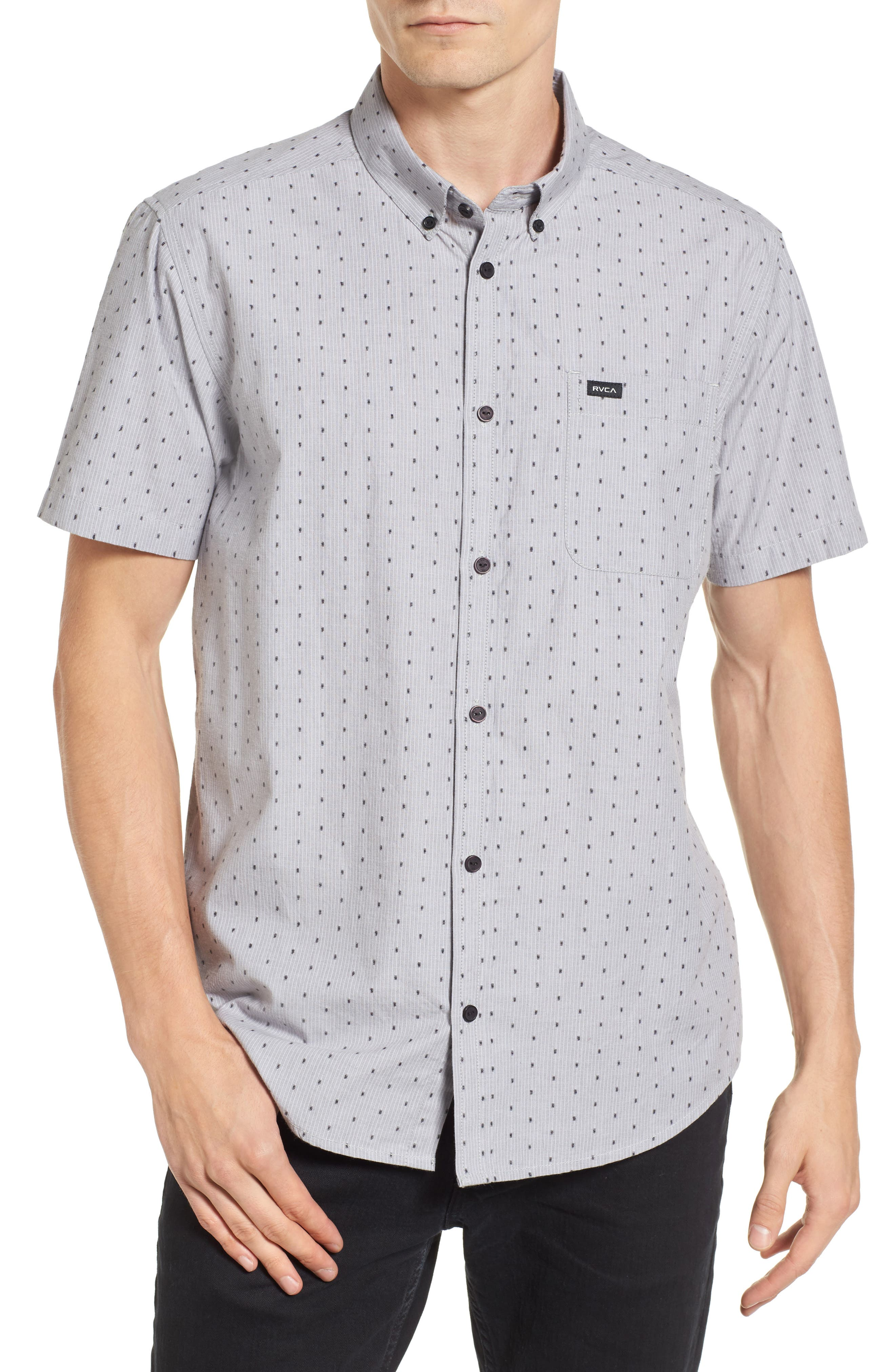 RVCA Return Dobby Woven Shirt