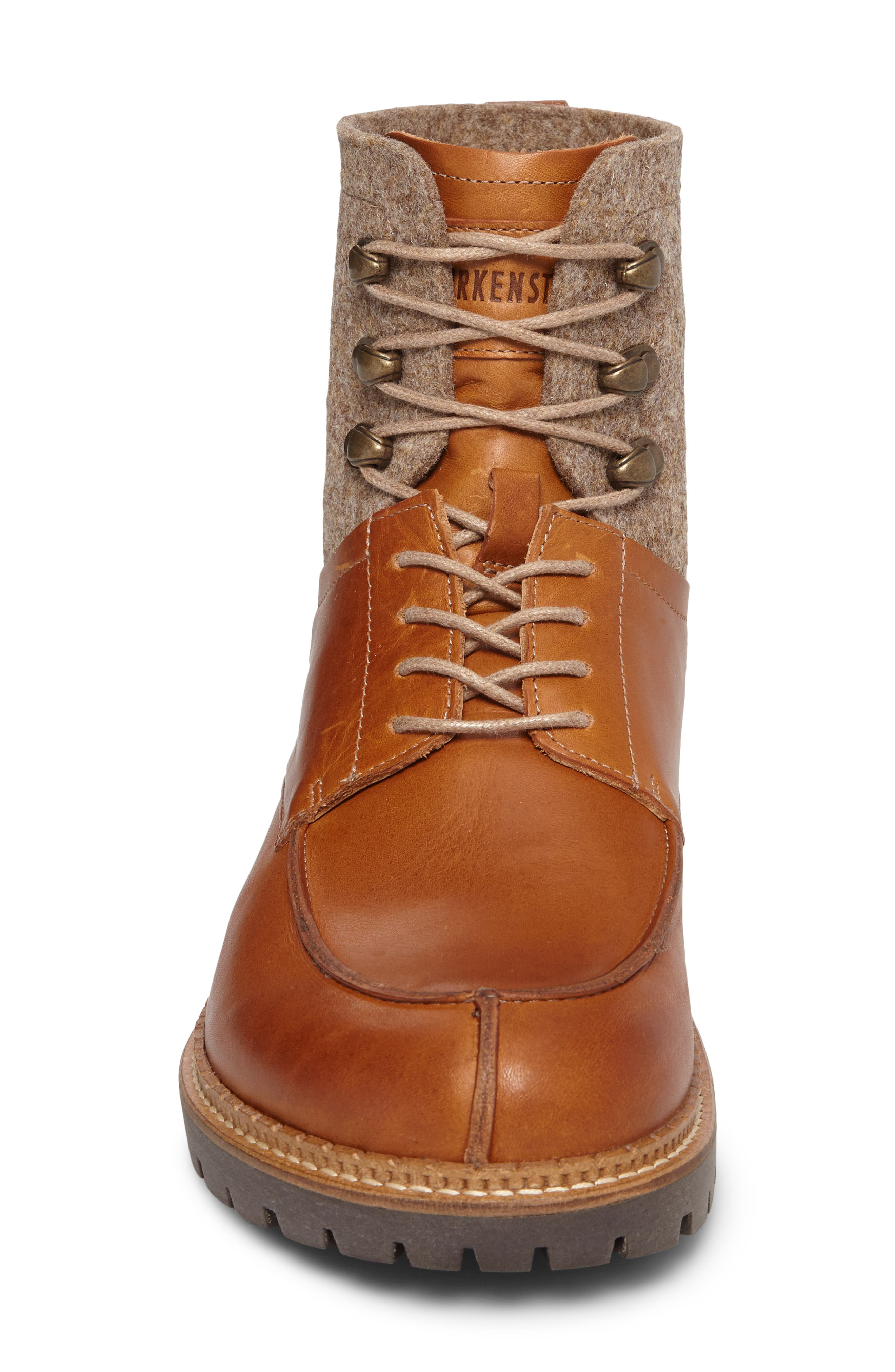 Timmins Split Toe Boot,                             Alternate thumbnail 4, color,                             Cuoio