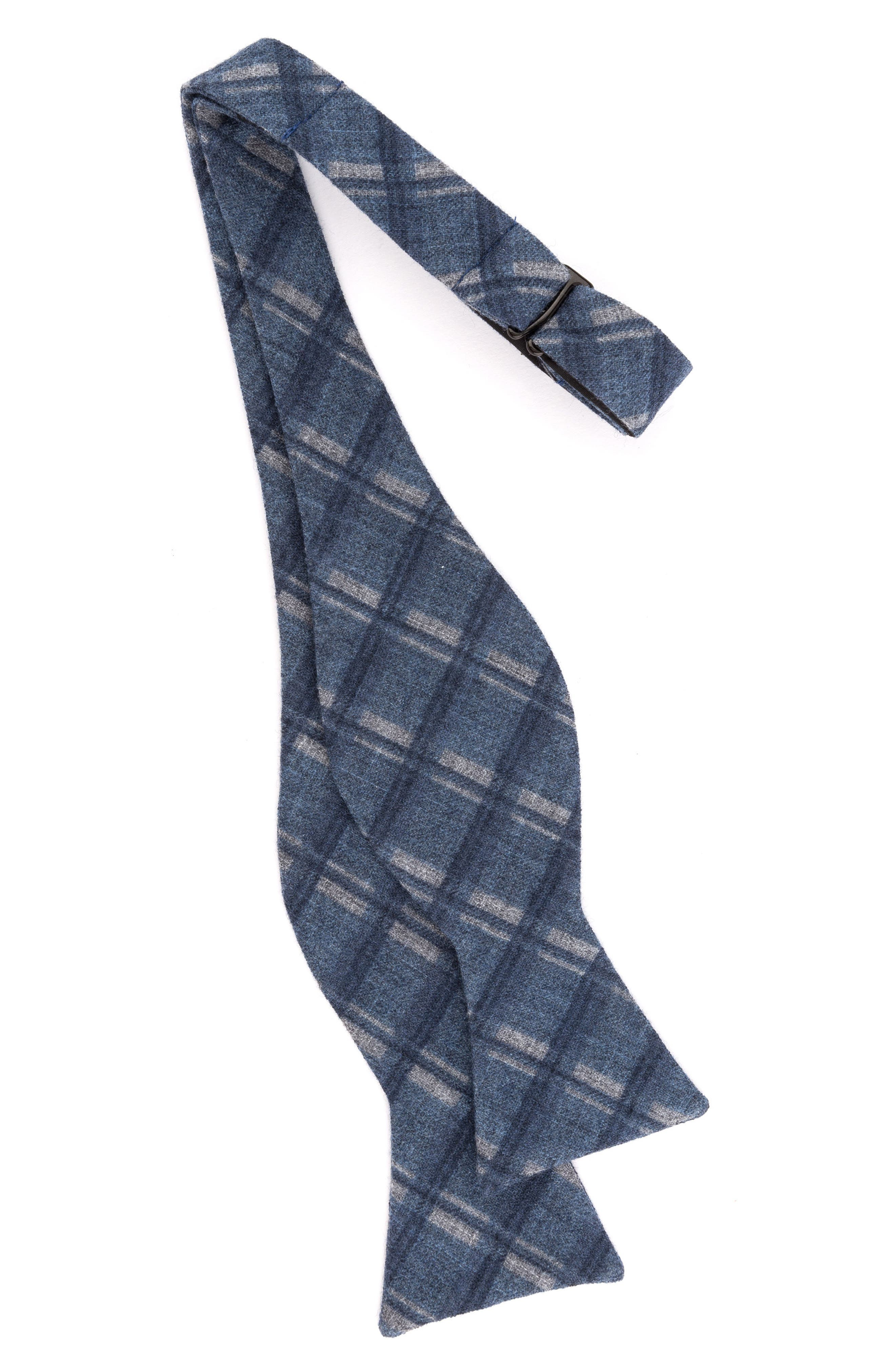 Wool Bow Tie,                             Alternate thumbnail 2, color,                             Blue