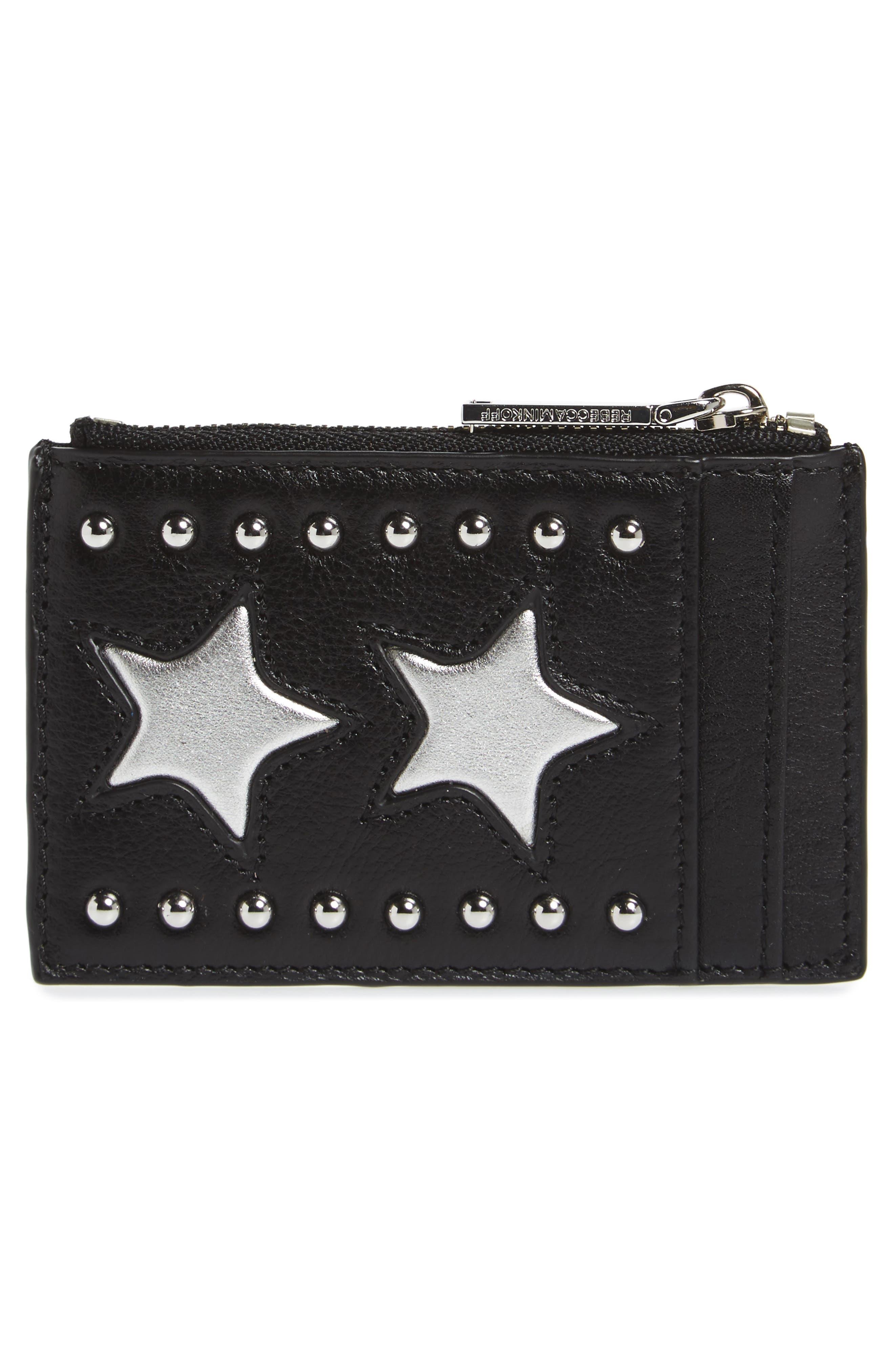 Main Image - Rebecca Minkoff Leather Card Case