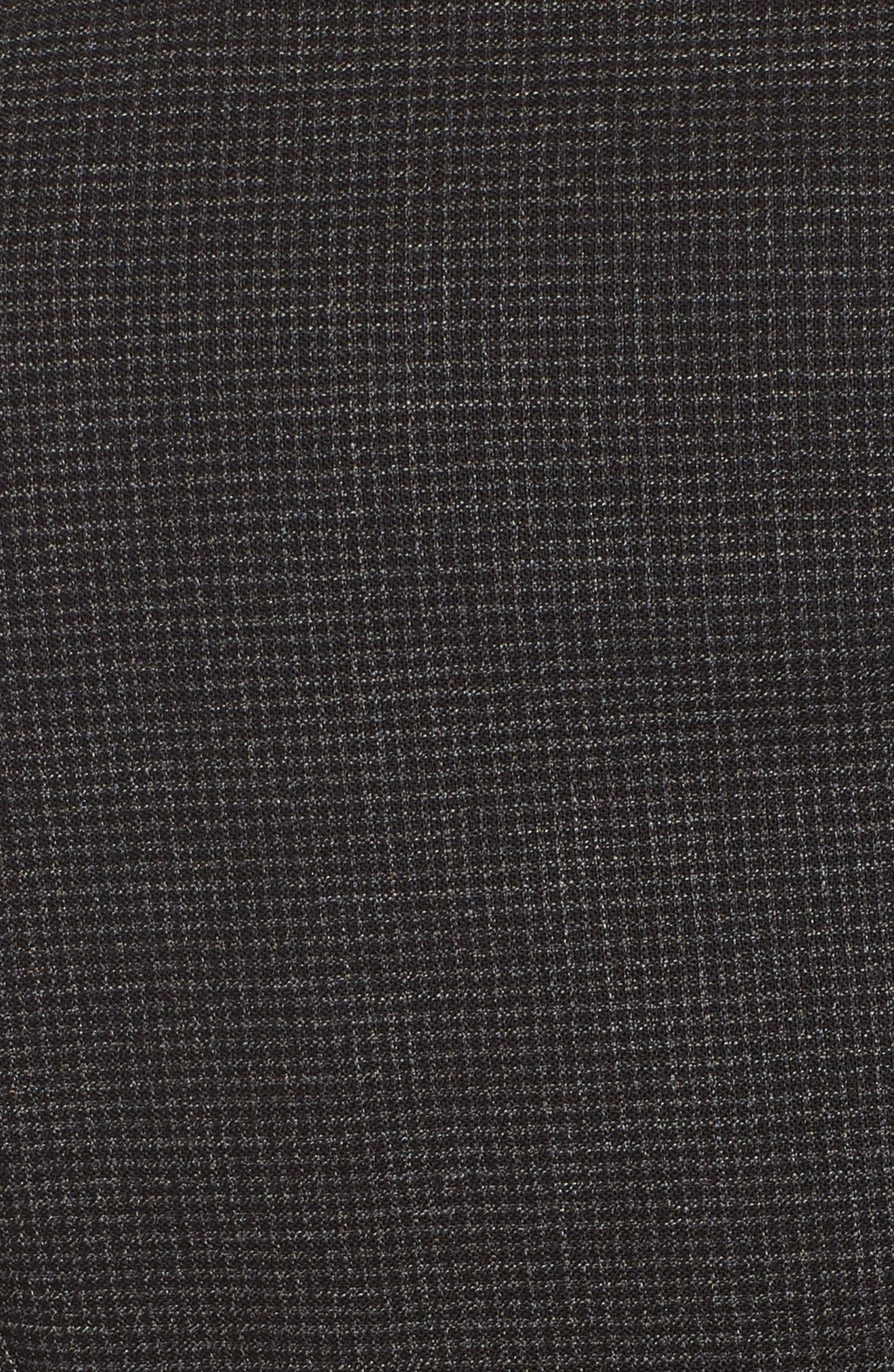 Jewisa Wool Jacket,                             Alternate thumbnail 5, color,                             Black Fantasy
