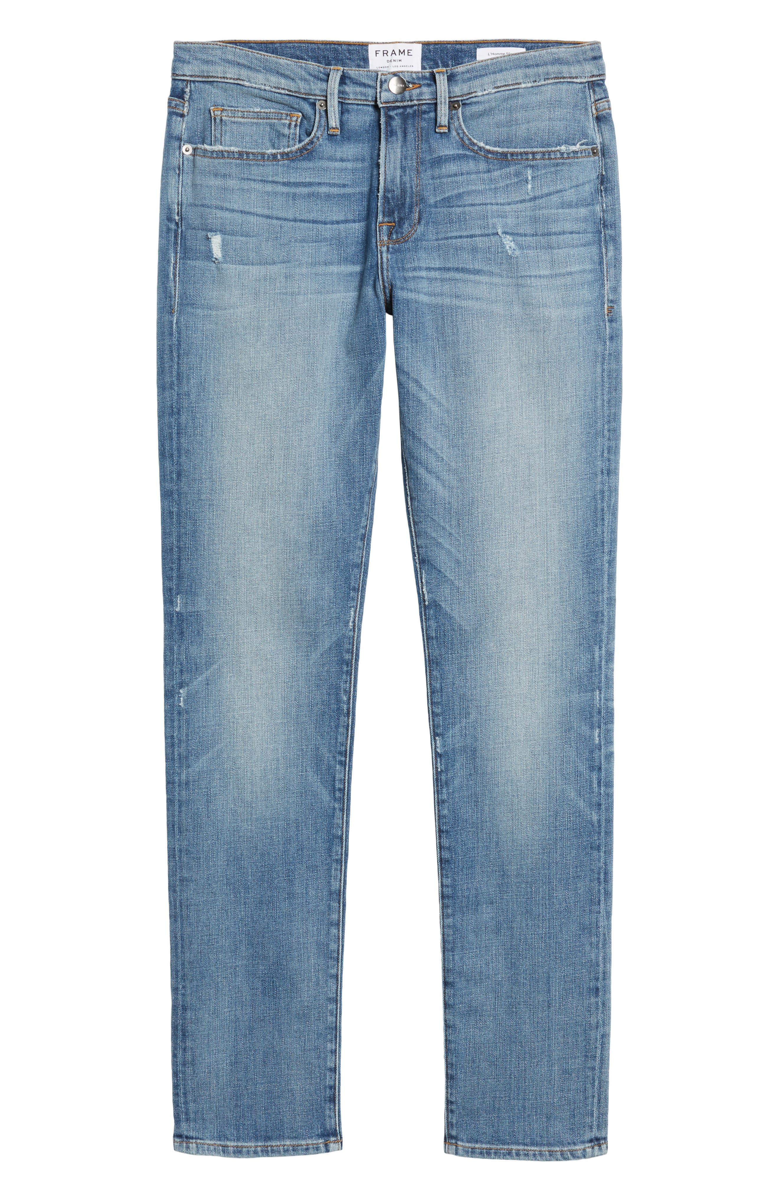 L'Homme Slim Fit Jeans,                             Alternate thumbnail 6, color,                             Beaudry