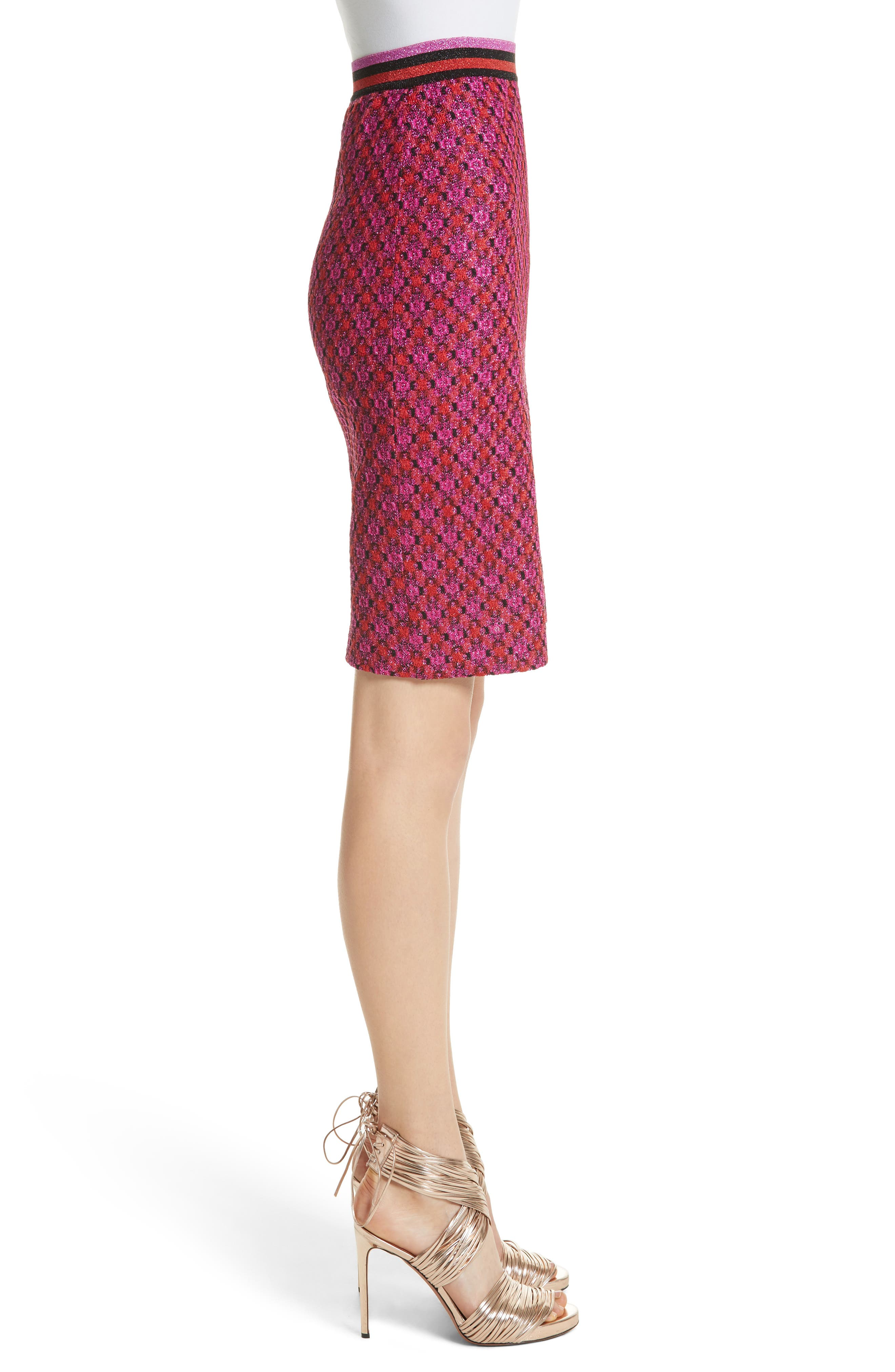 Alternate Image 3  - Missoni Metallic Crisscross Knit Pencil Skirt