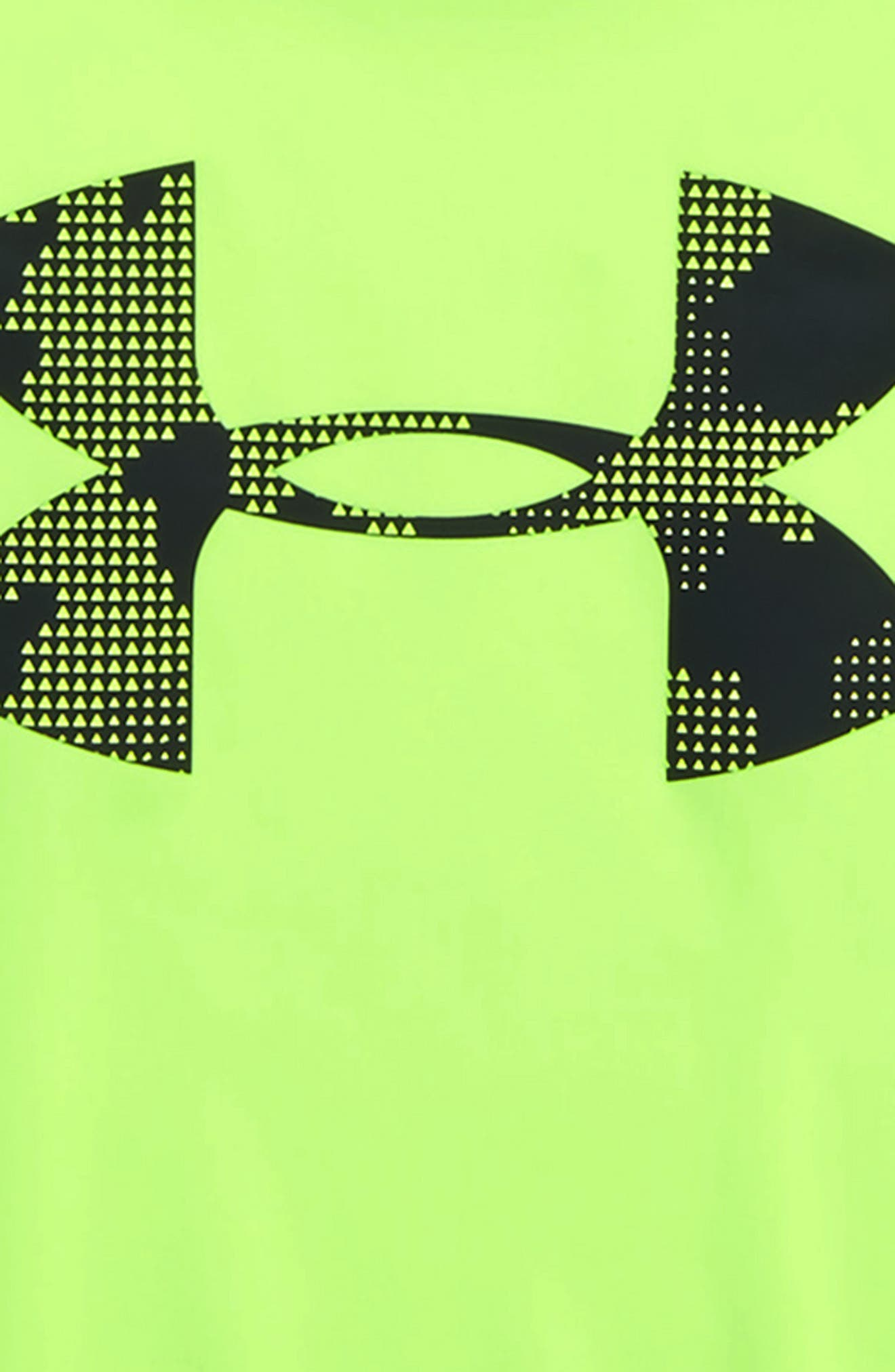 Alternate Image 2  - Under Armour Utility Layered Long Sleeve T-Shirt (Toddler Boys & Little Boys)