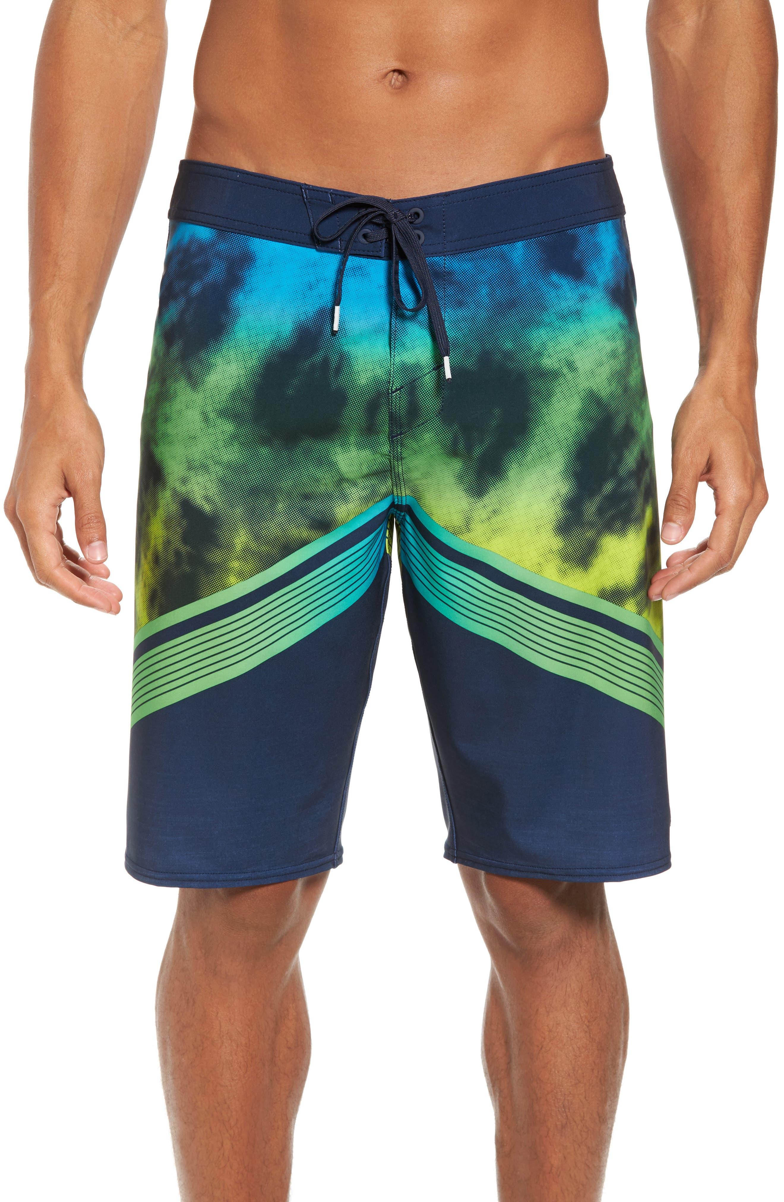 Hyperfreak Imagine Board Shorts,                         Main,                         color, Navy