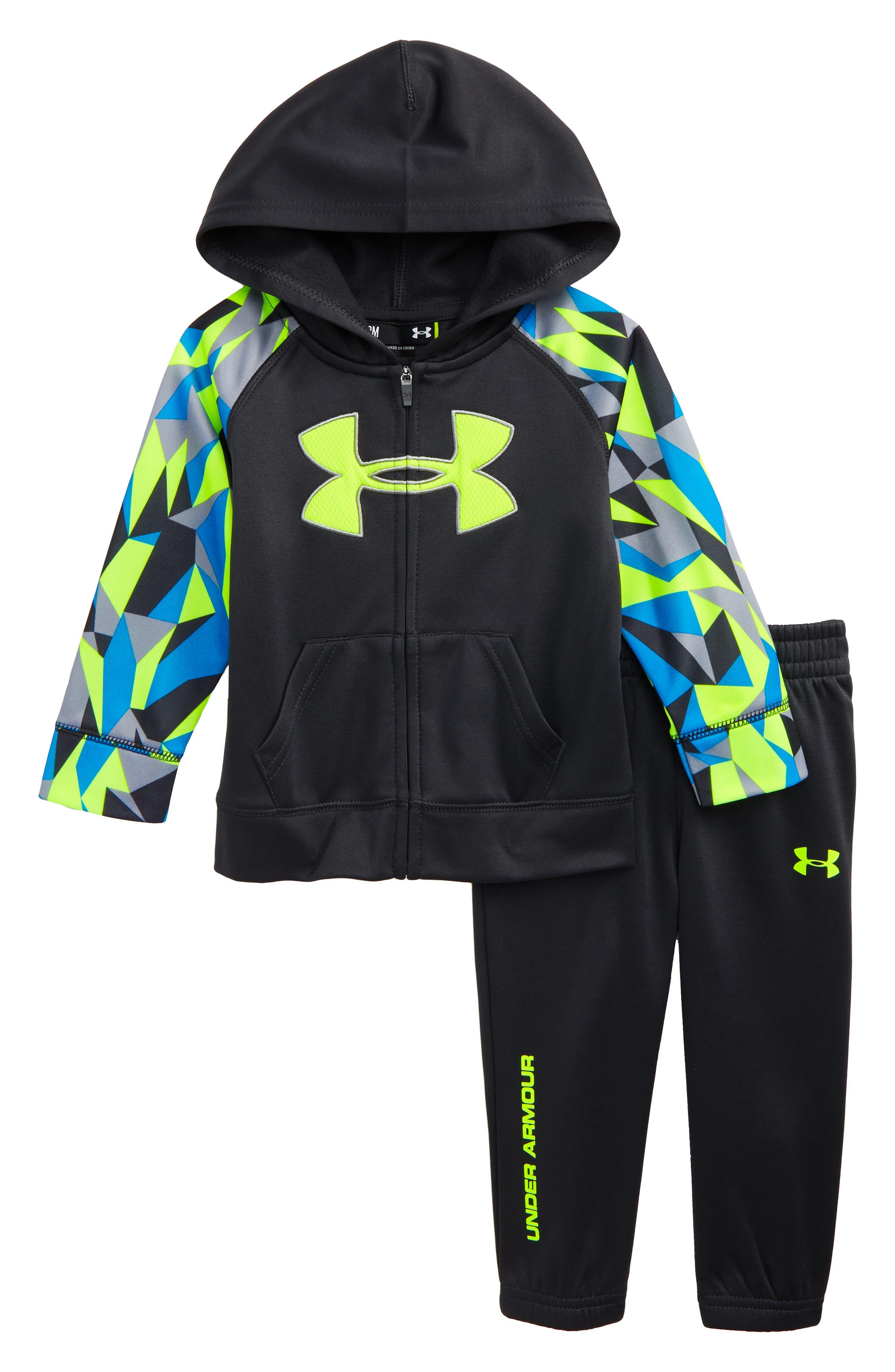 Under Armour Big Logo Hoodie & Sweatpants Set (Baby Boys)