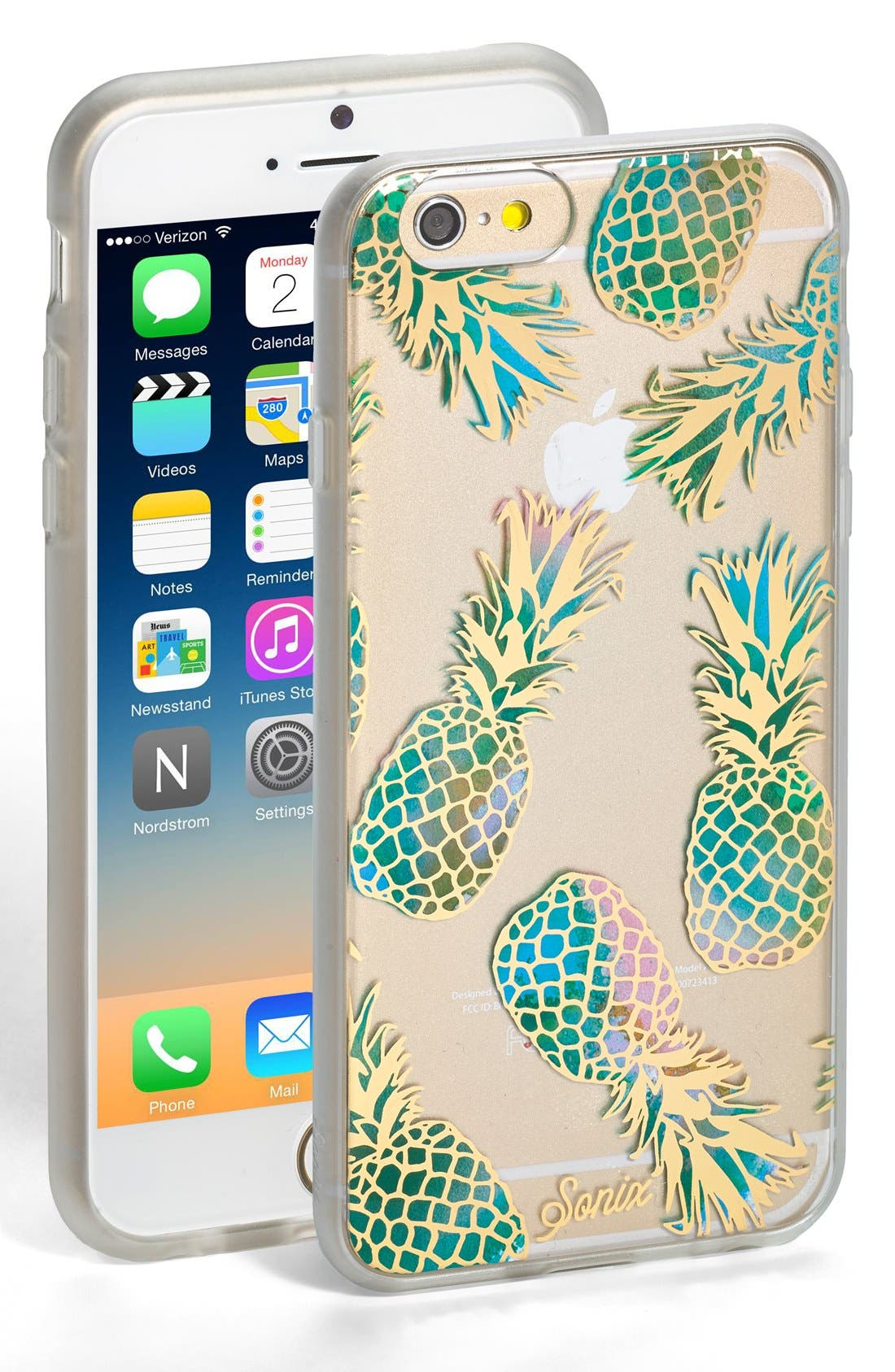 Liana Teal iPhone 6/6s Case,                         Main,                         color, Teal