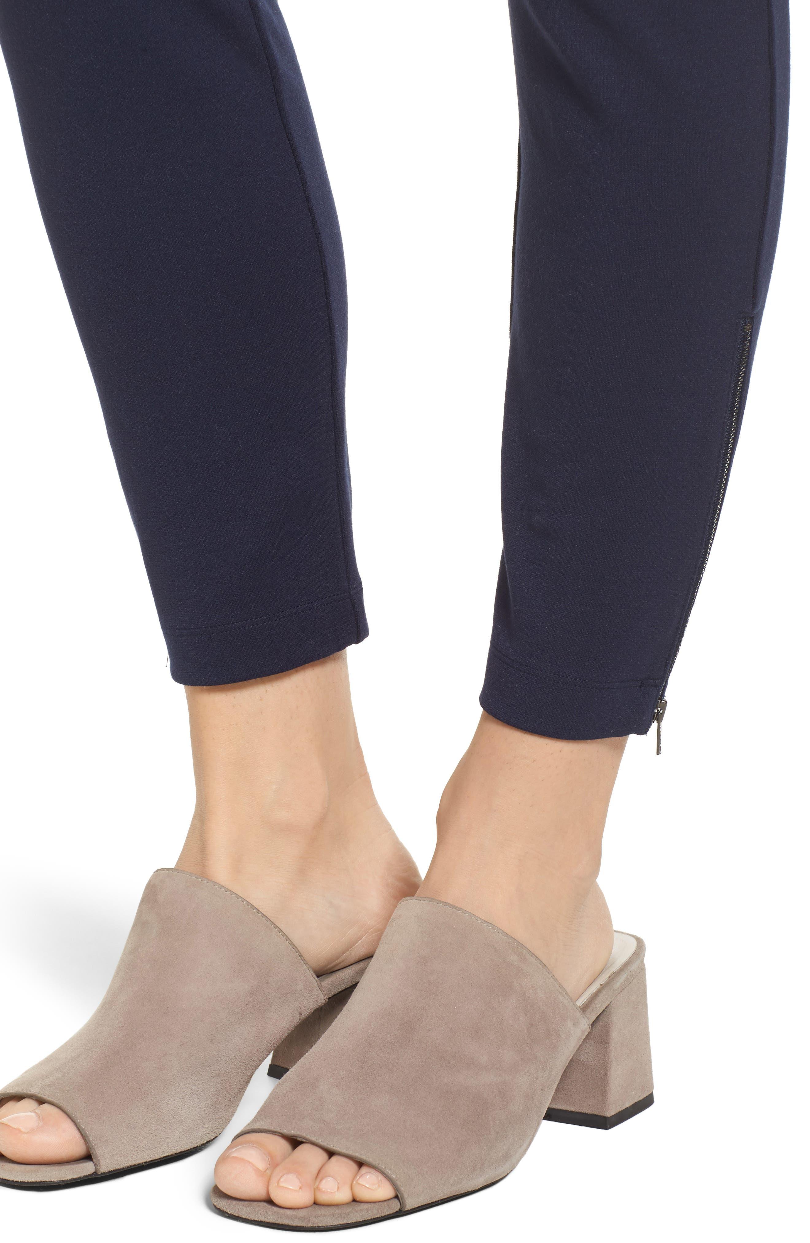 Alternate Image 4  - Eileen Fisher Slim Crop Pants