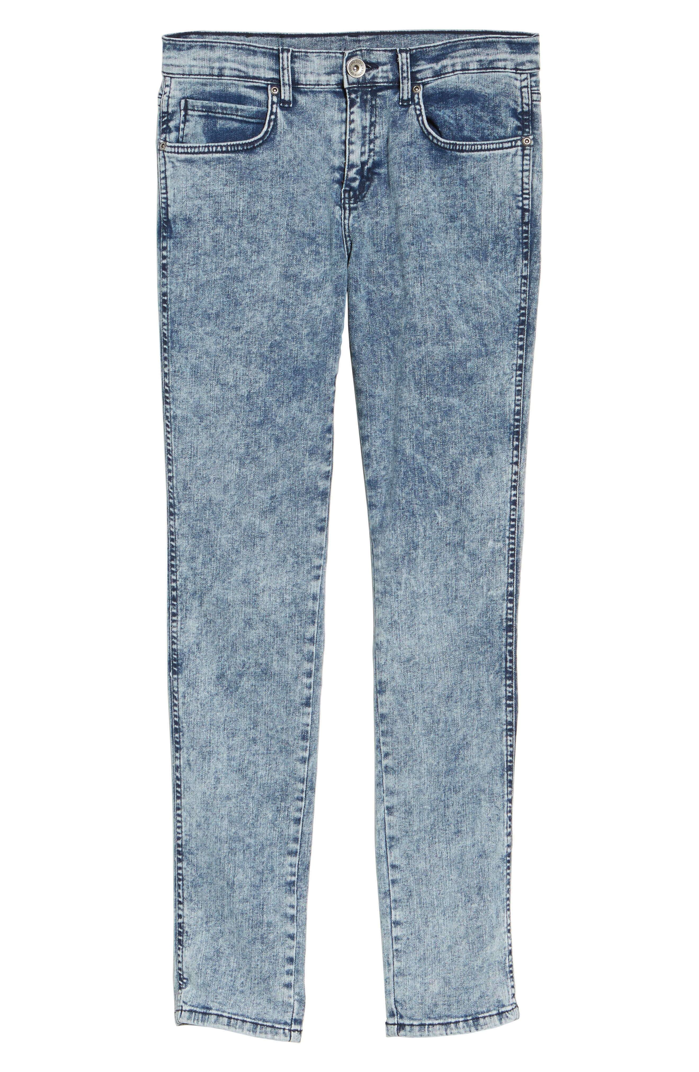 Alternate Image 6  - Dr. Denim Supply Co. Snap Skinny Fit Jeans (Acid Blue)