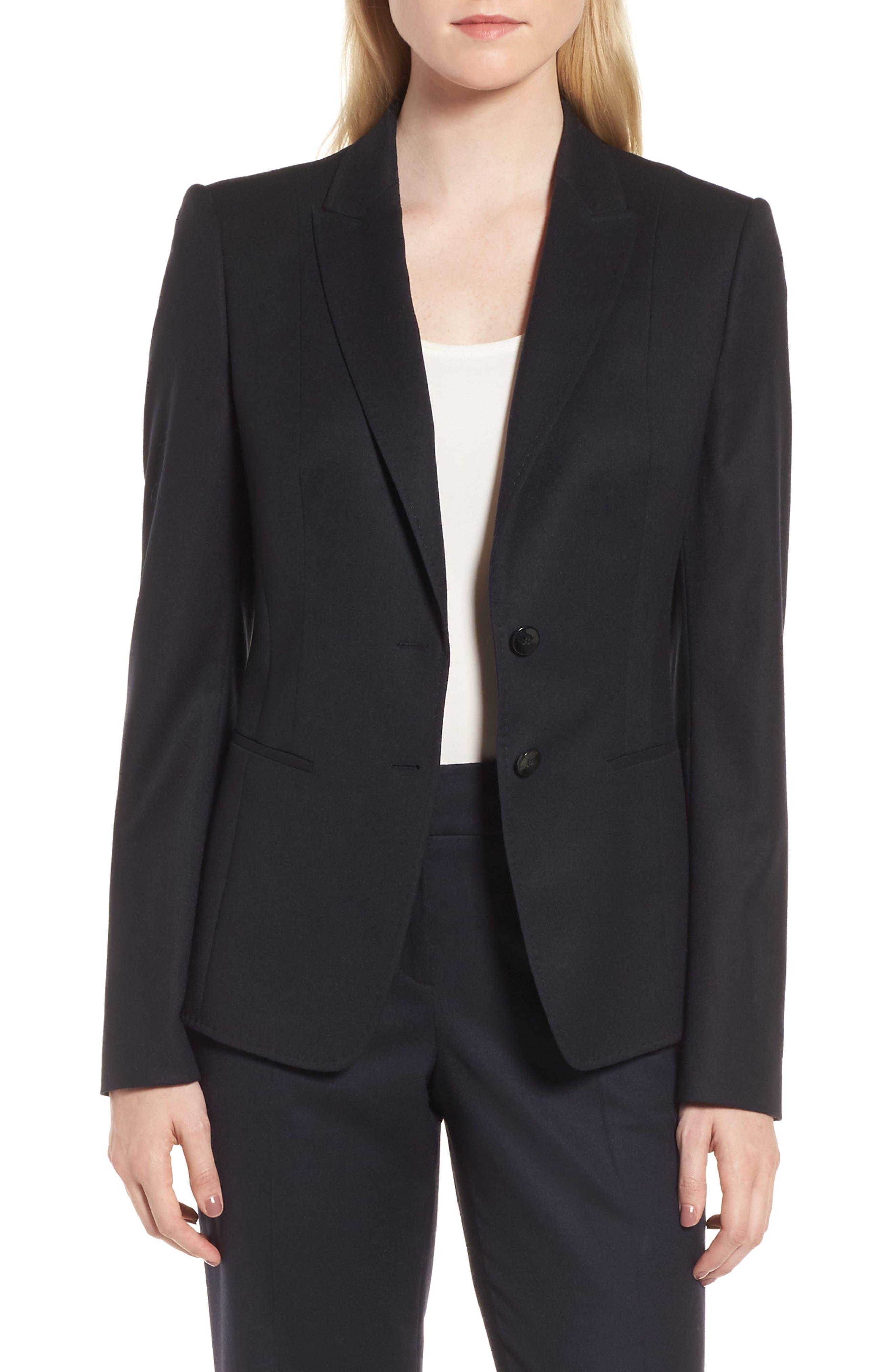 Jemita Jacket,                         Main,                         color, Navy