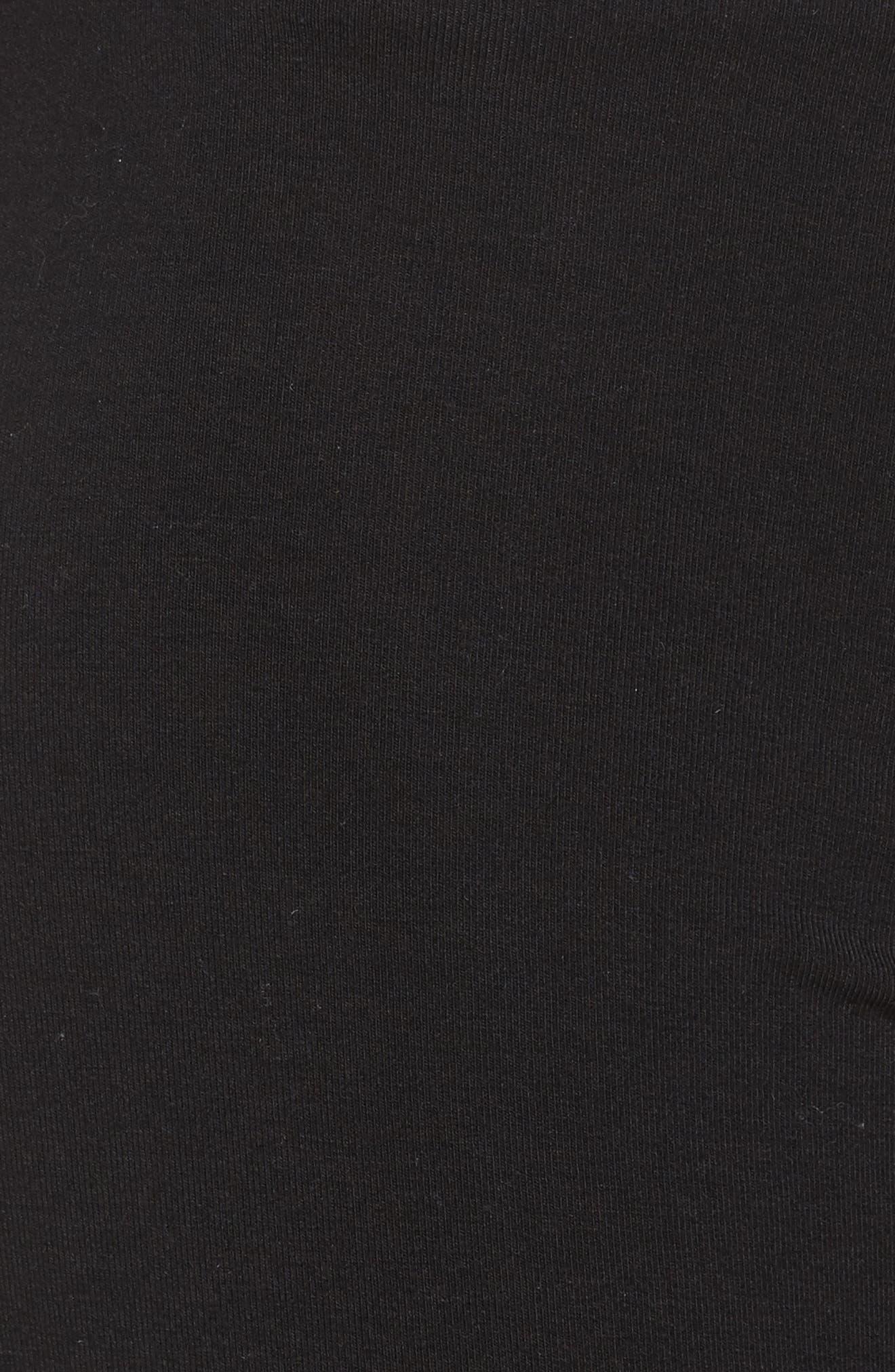 Crisscross Lounge Pants,                             Alternate thumbnail 6, color,                             True Black