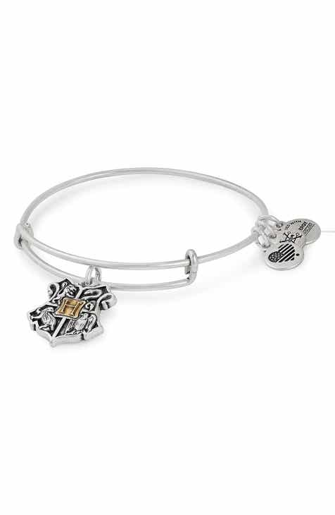 Alex And Ani Harry Potter Hogwarts Adjule Wire Bangle