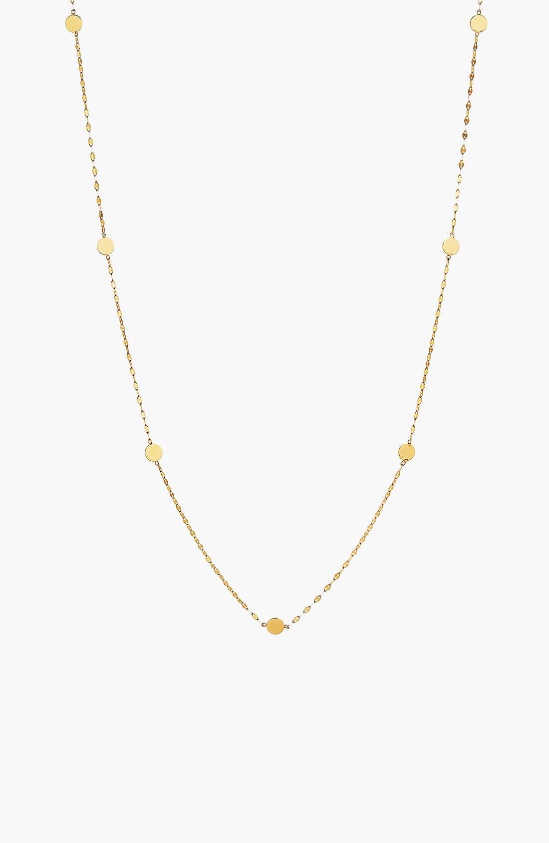 Lana Jewelry 'Ombré' Disc Station Necklace