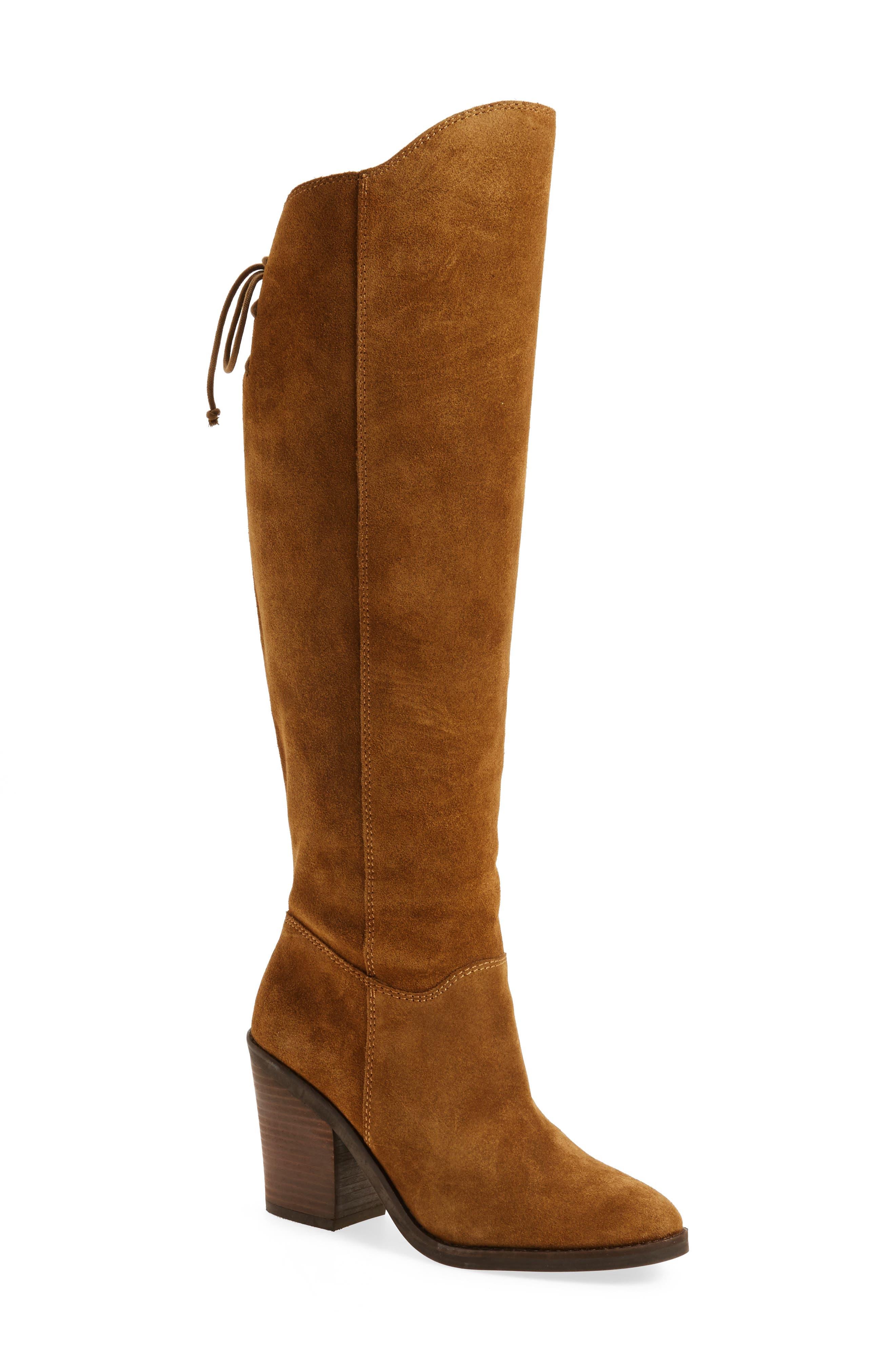 Alternate Image 1 Selected - Lucky Brand Pembe Asymmetrical Boot (Women)