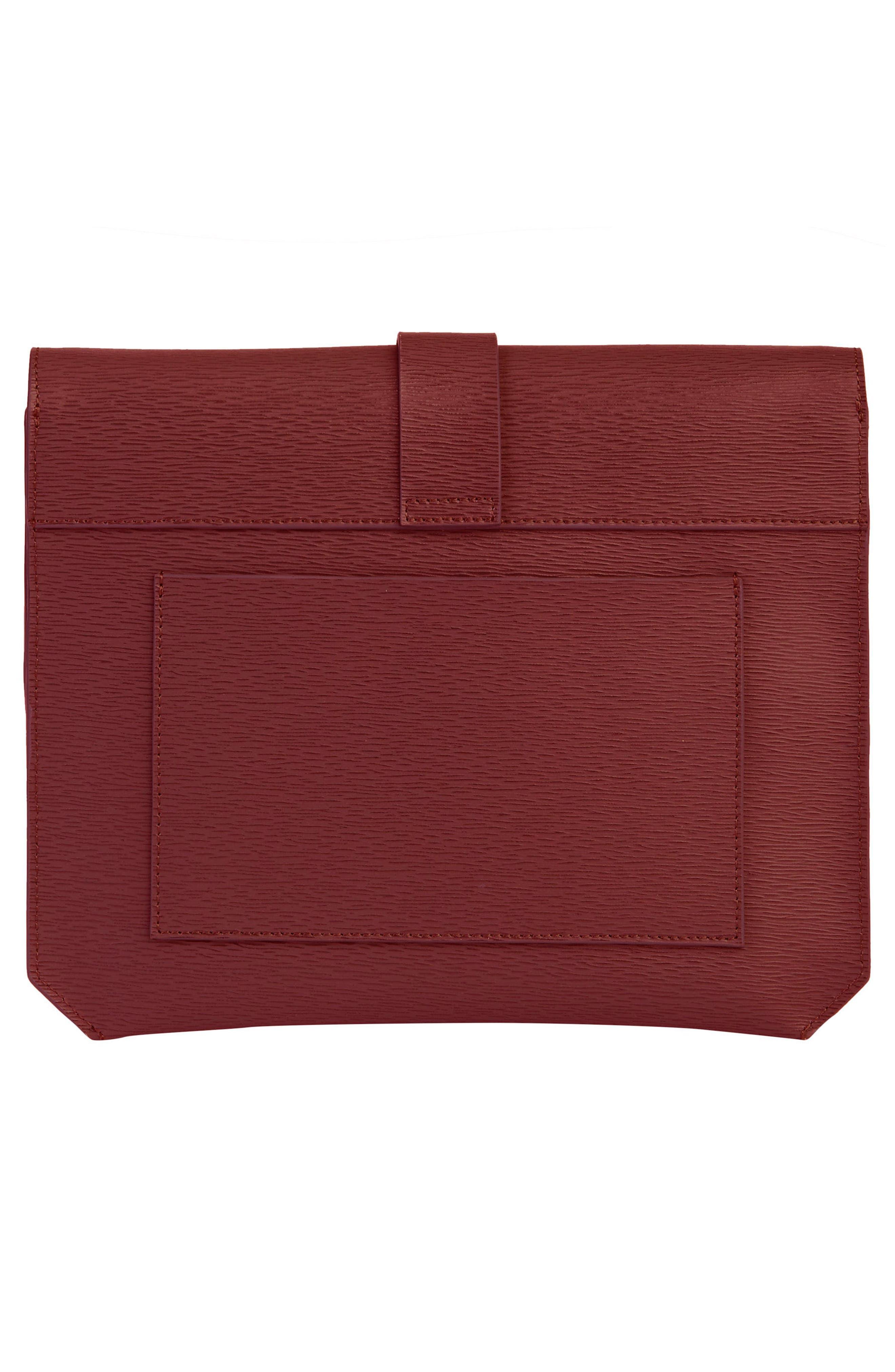 Alternate Image 2  - Senreve Mimosa Textured Leather Crossbody Bag