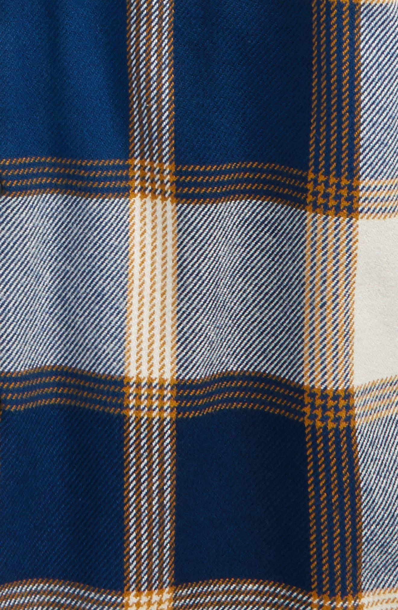 Alternate Image 2  - Volcom Heavy Daze Plaid Flannel Shirt Jacket (Big Boys)