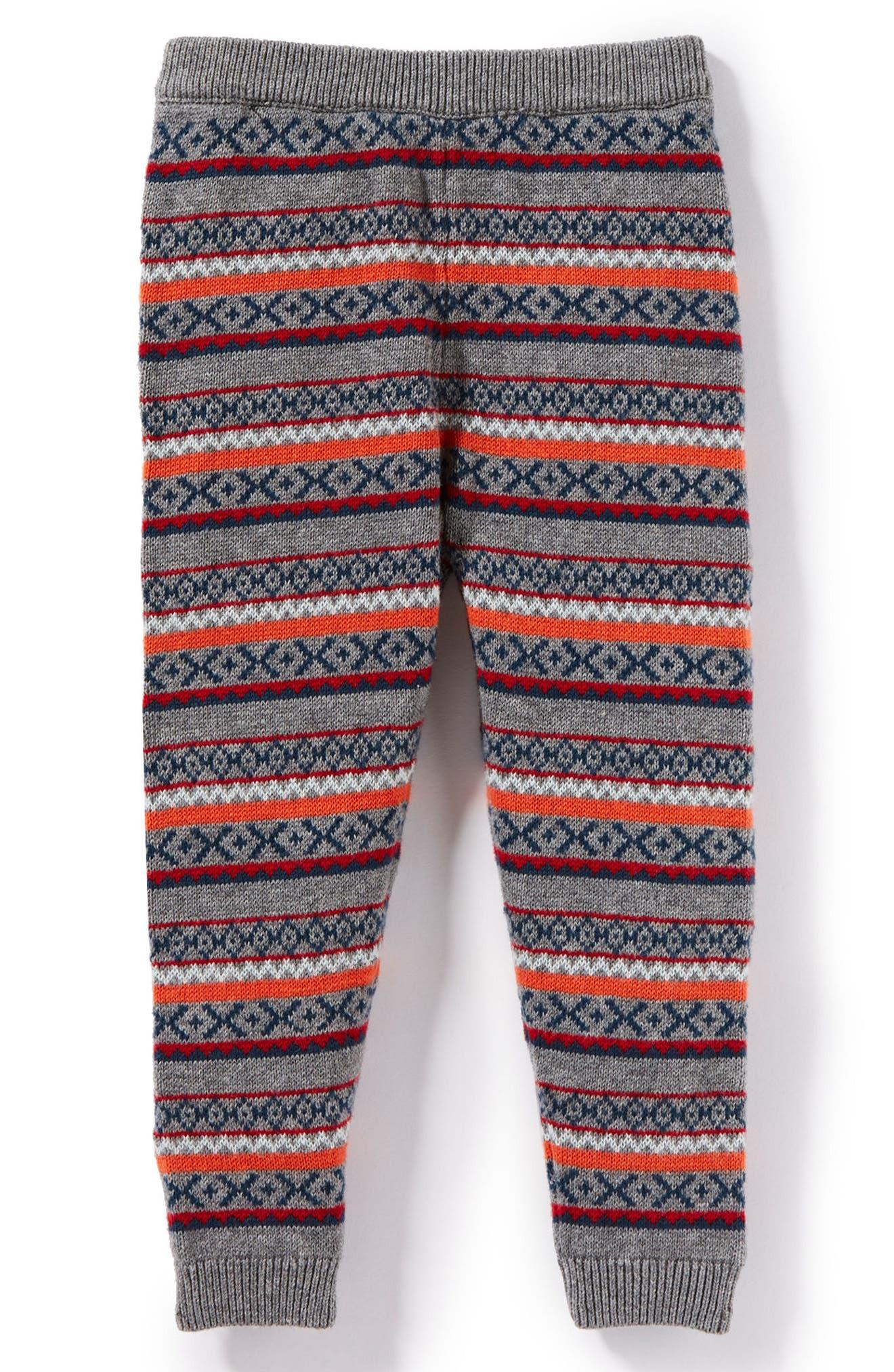 Main Image - Peek Eli Intarsia Sweater Pants (Baby Boys)