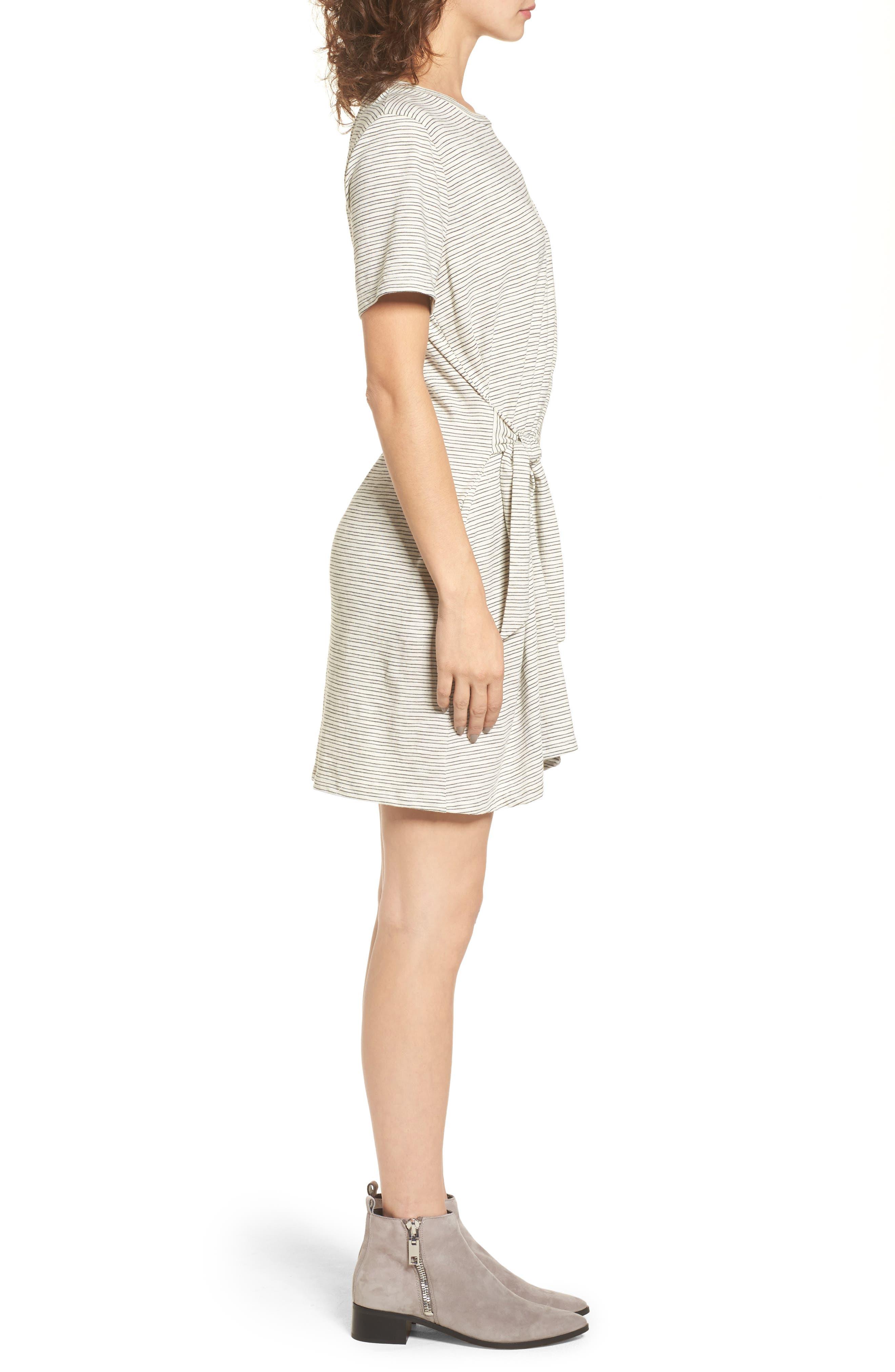 Alternate Image 3  - Side Knot Tee Dress