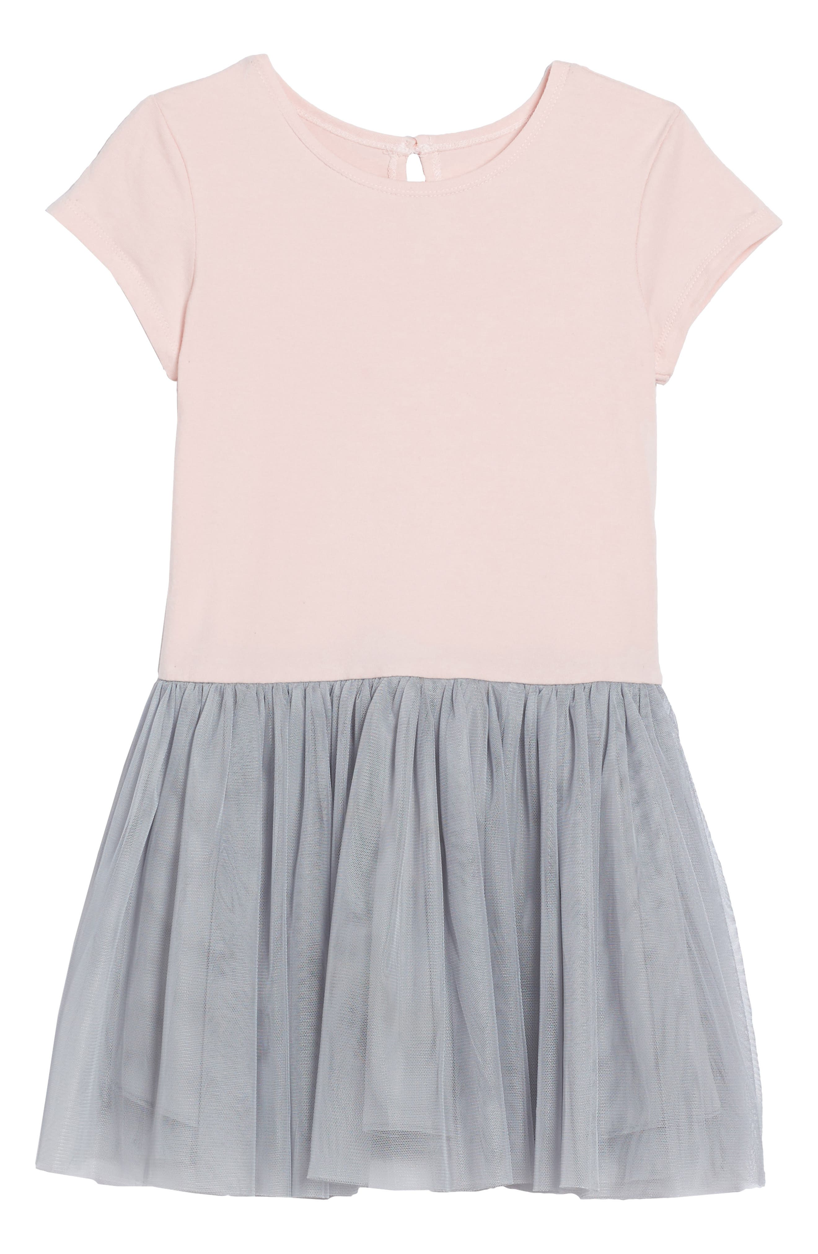 Tank Dress & Sequin Bomber Jacket Set,                             Alternate thumbnail 3, color,                             Silver/ Pink