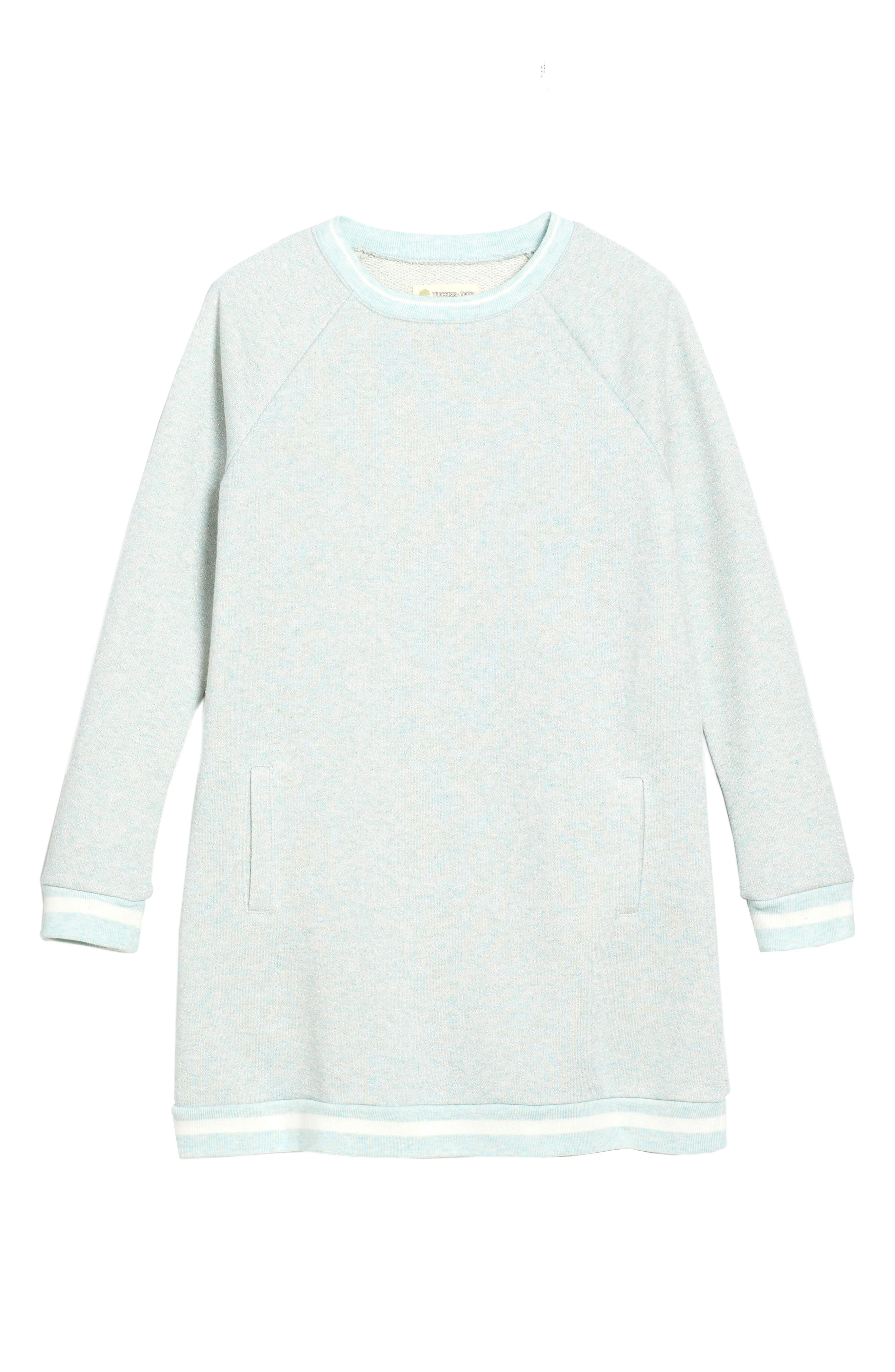 Main Image - Tucker + Tate Sparkle Terry Dress (Toddler Girls, Little Girls & Big Girls)
