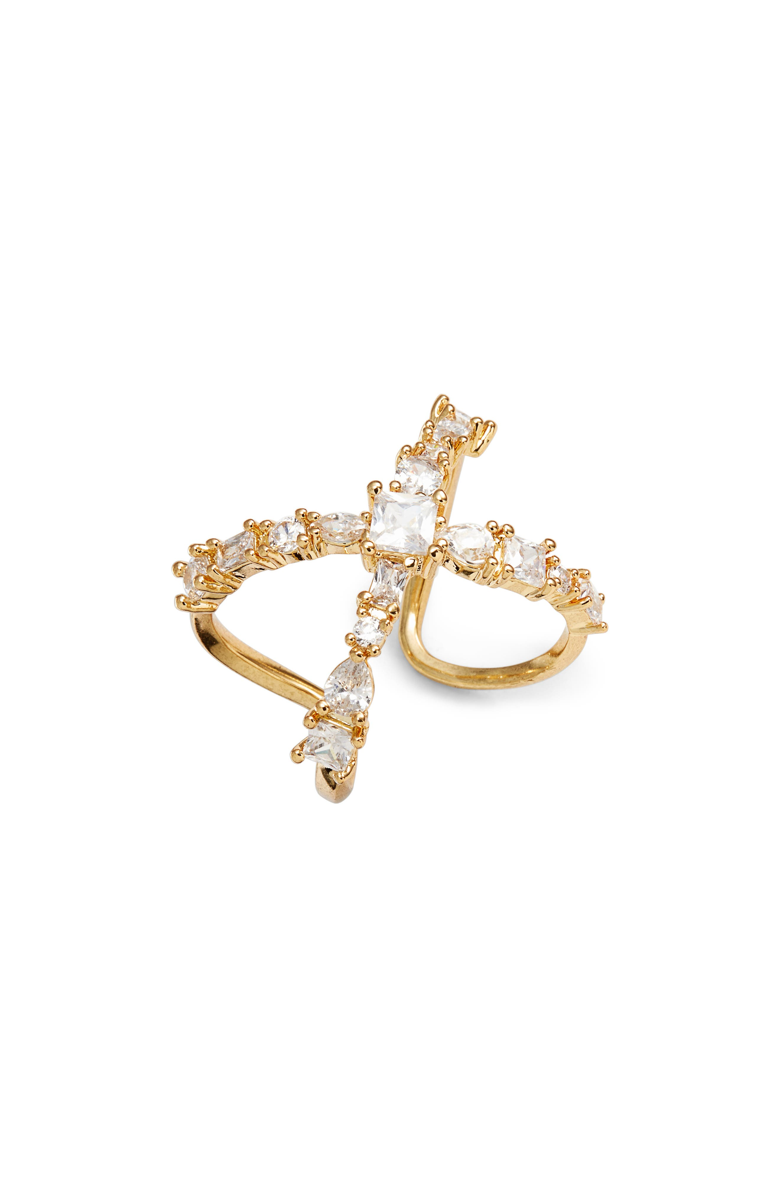 Luv AJ Scattered Jewel Ring