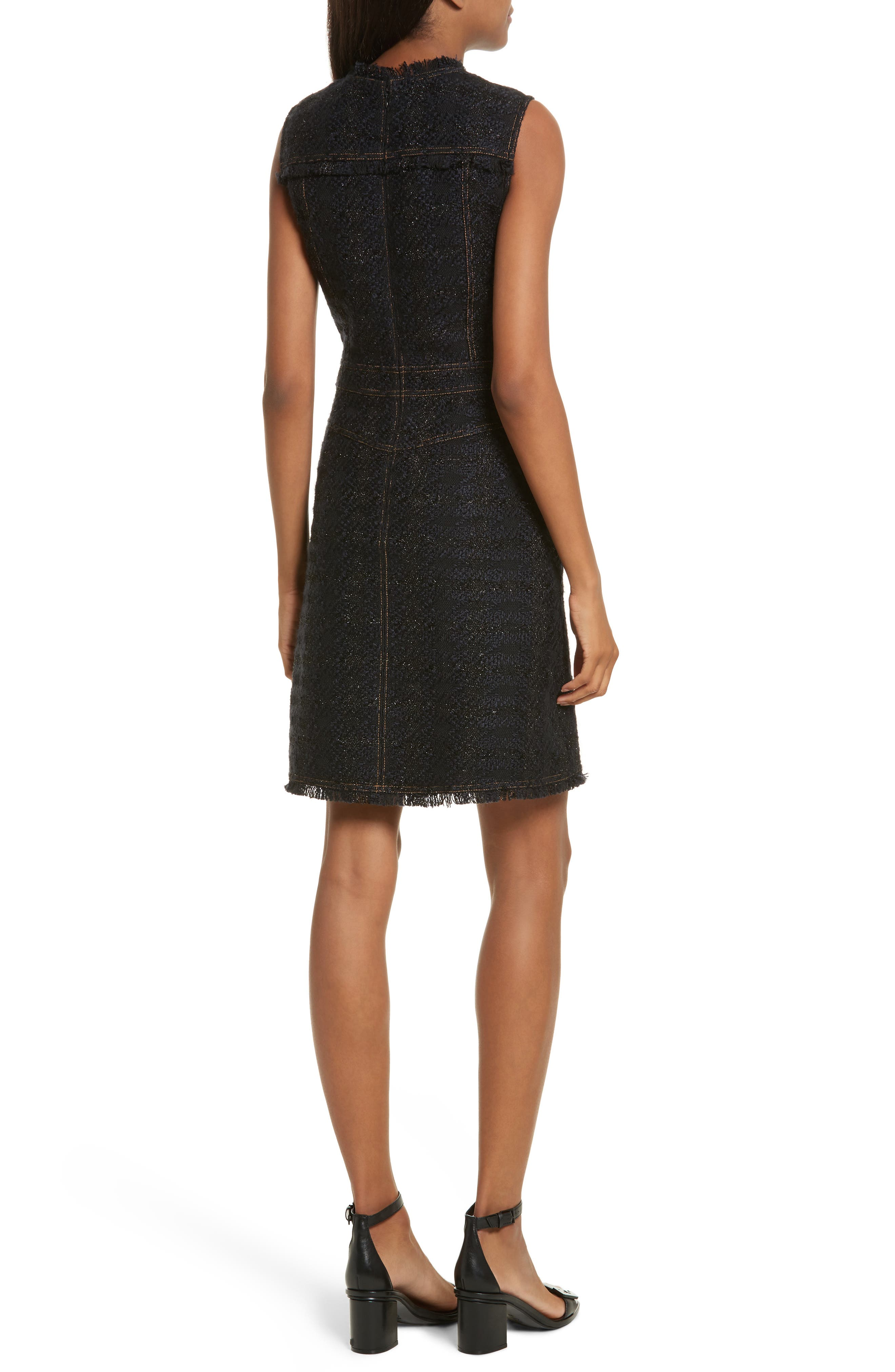 Alternate Image 2  - Tory Burch Aria Tweed Sheath Dress