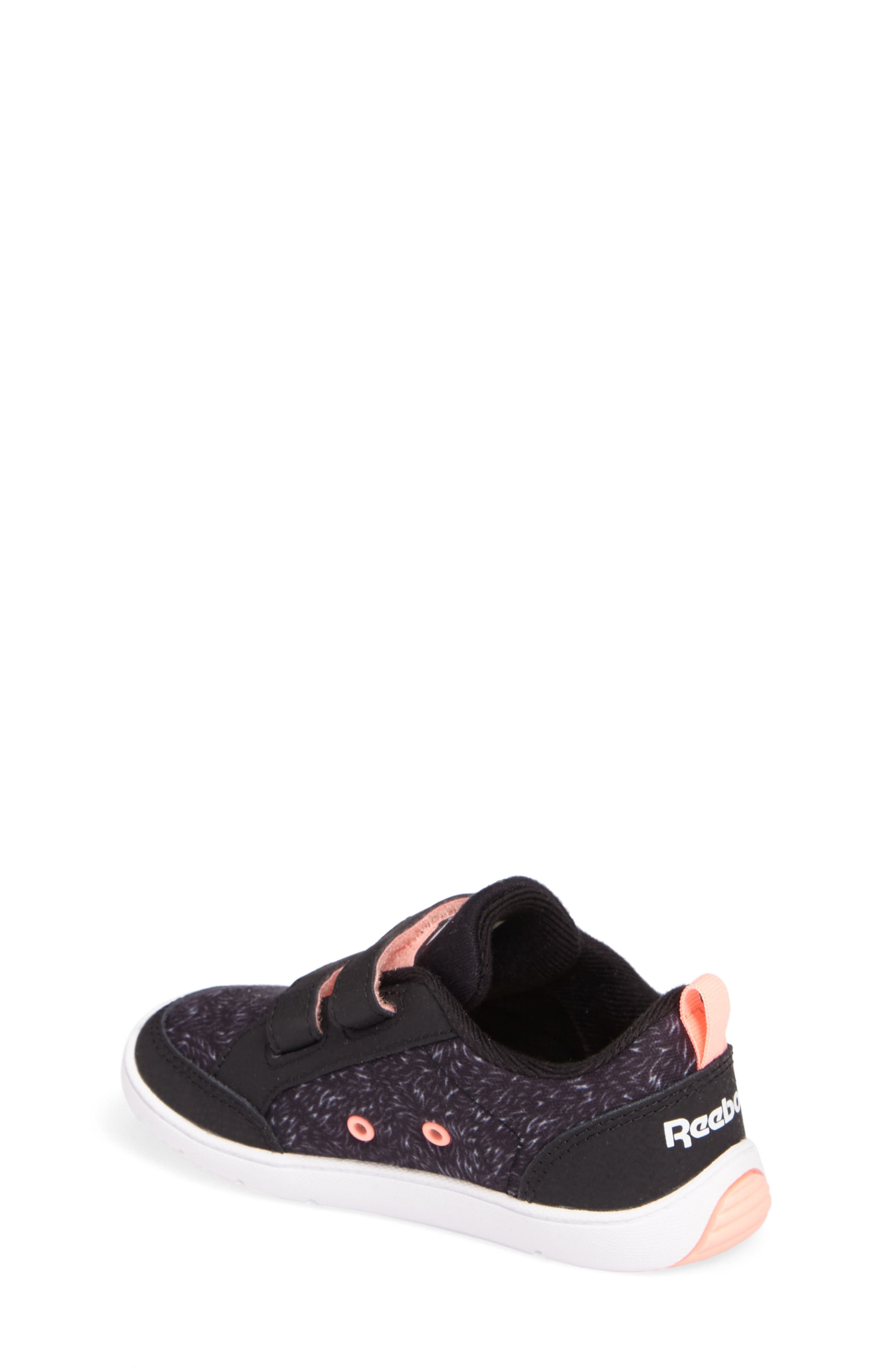 Ventureflex Critter Feet Sneaker,                             Alternate thumbnail 2, color,                             Artic Black/ White/ Sour Melon