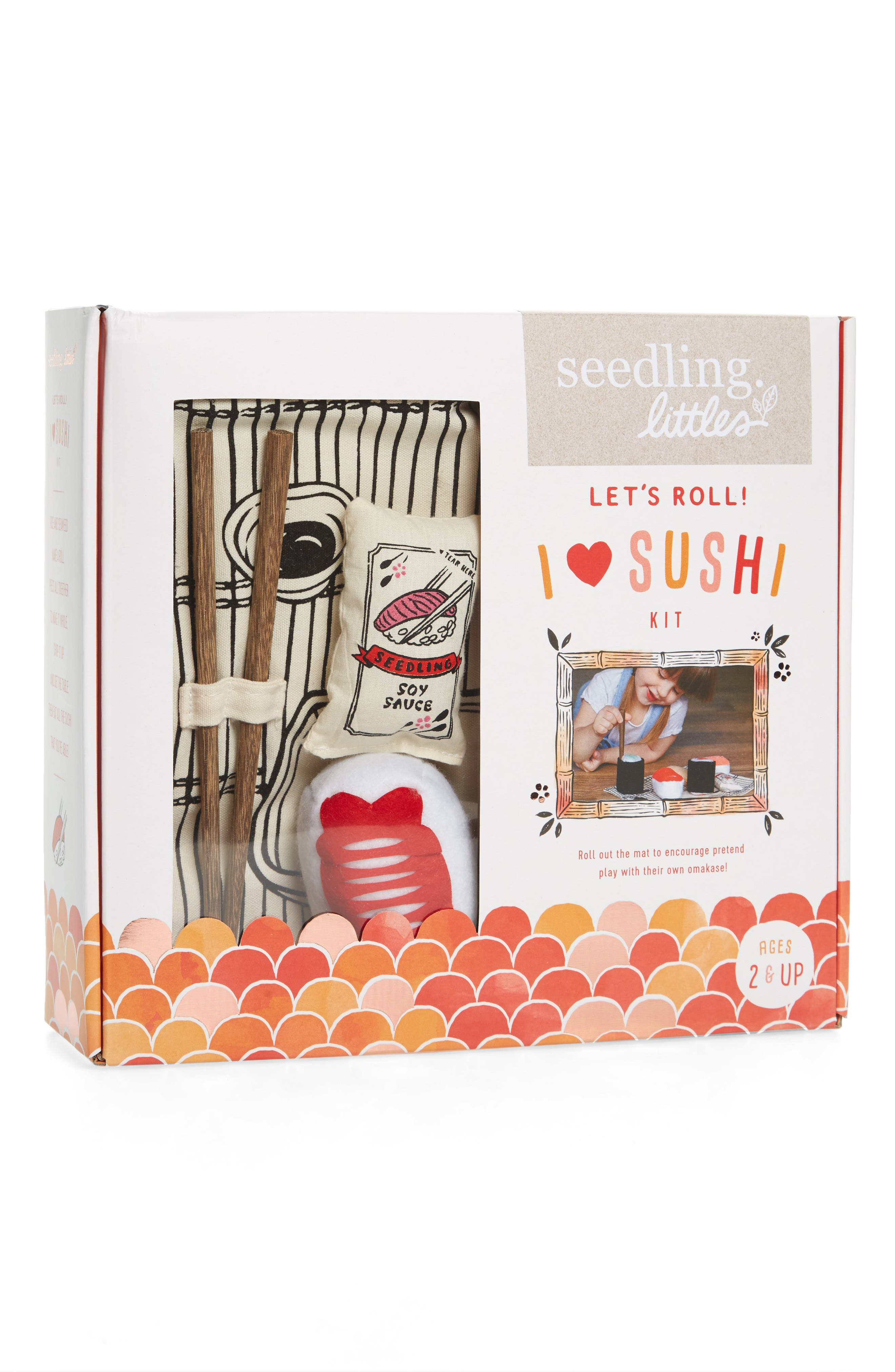 seedling Let's Roll! I Love Sushi Play Set