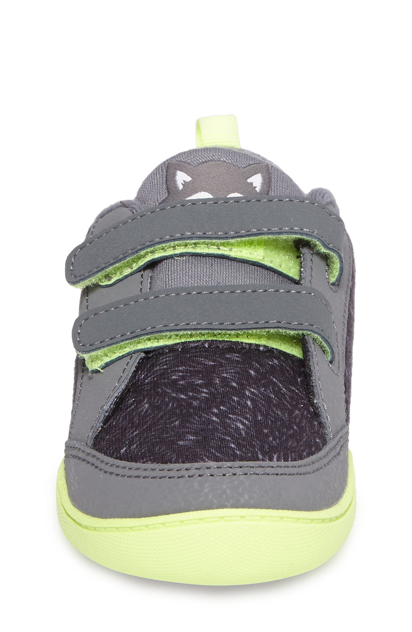 Alternate Image 4  - Reebok Ventureflex Critter Feet Sneaker (Baby, Walker & Toddler)