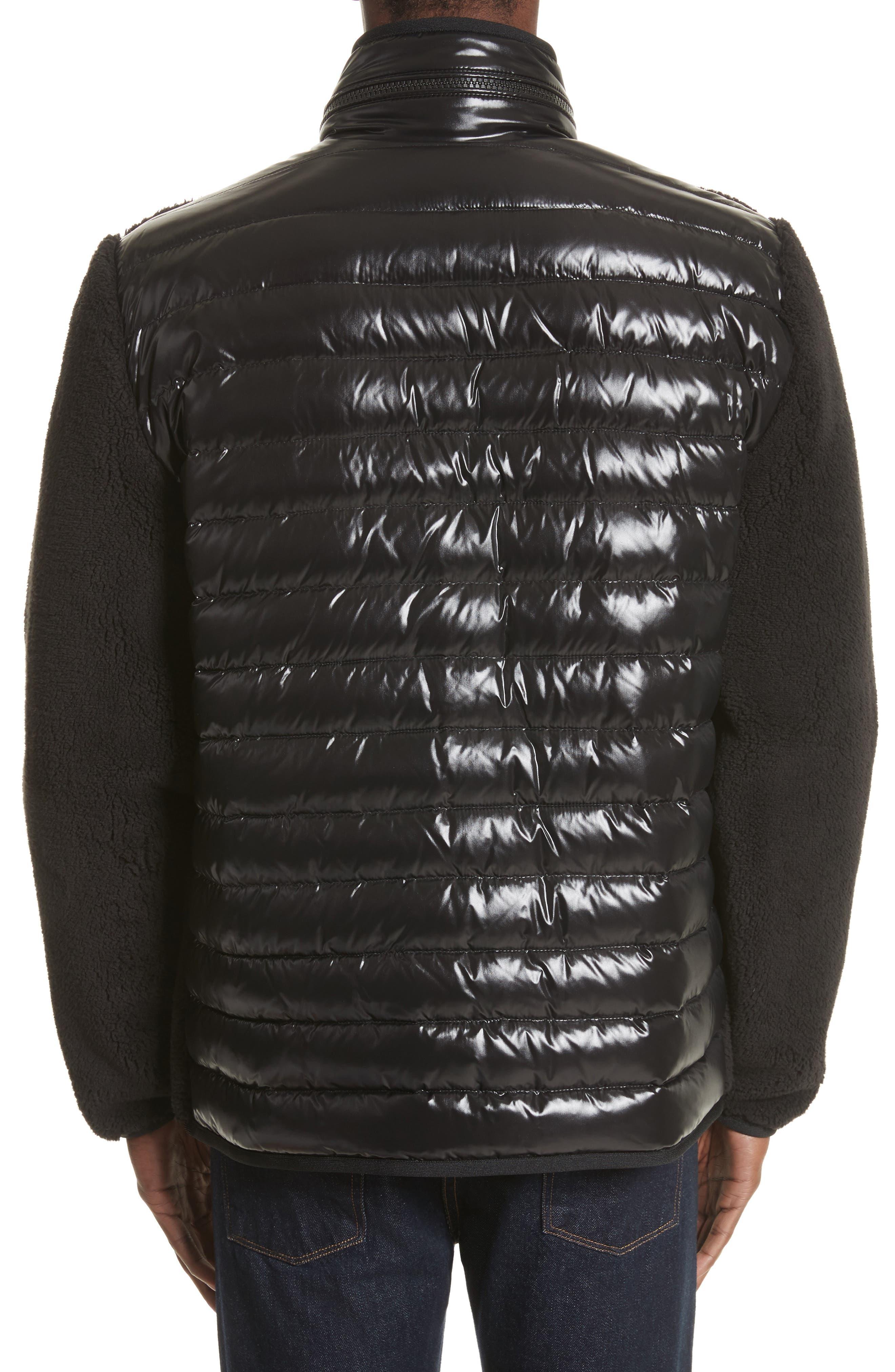 Alternate Image 2  - Moncler Polar Fleece Zip Jacket