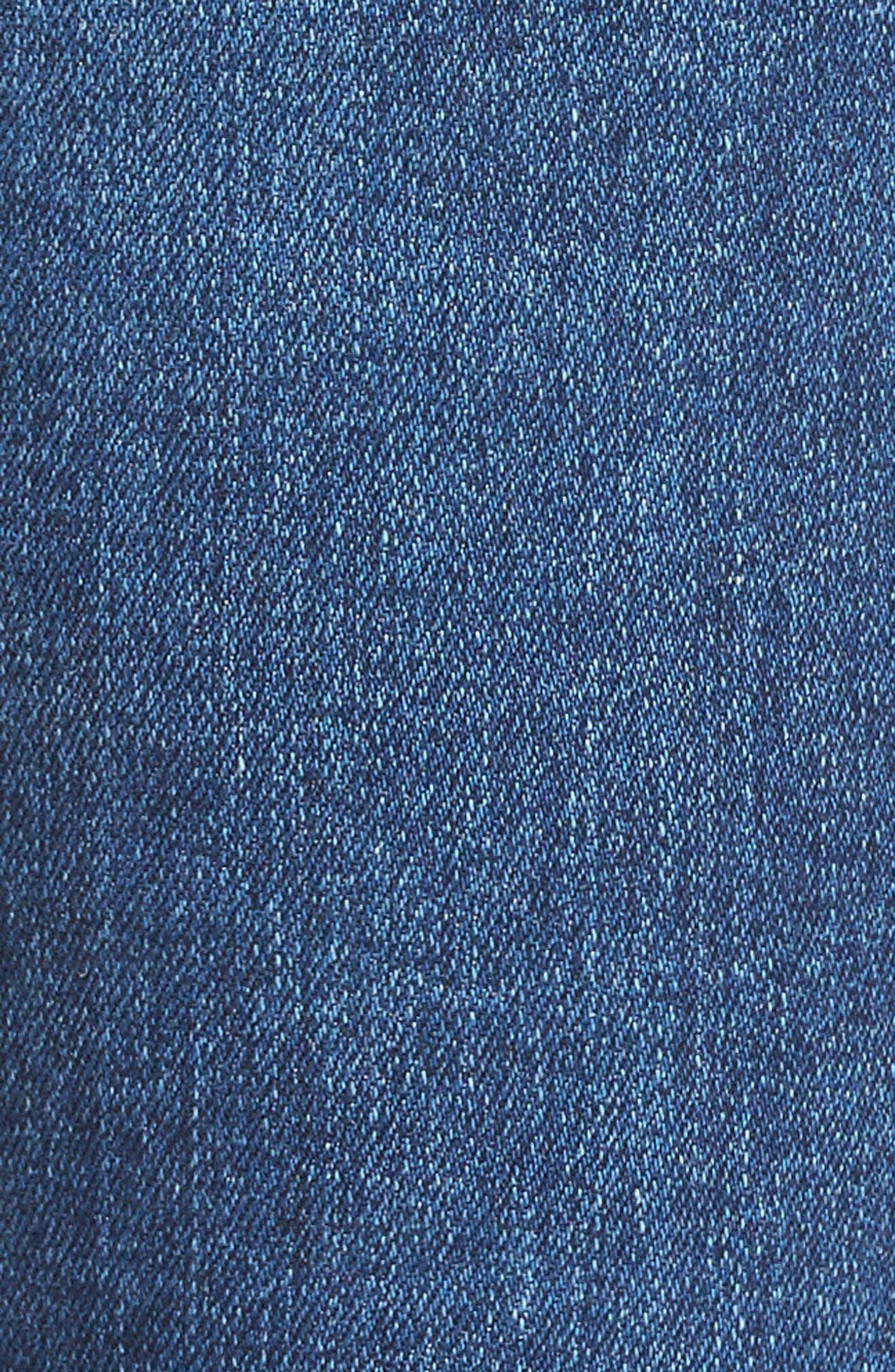 Alternate Image 5  - AG The Legging Ankle Super Skinny Jeans (17 Years Sea Drift)