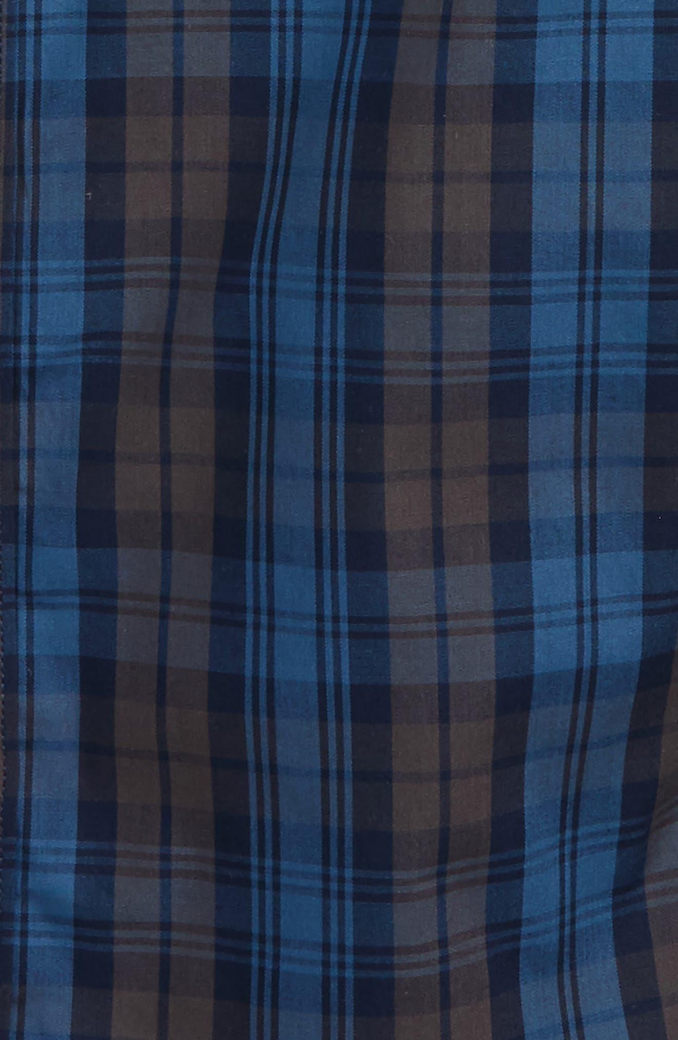 Ignition Layered Woven Shirt,                             Alternate thumbnail 2, color,                             Indigo