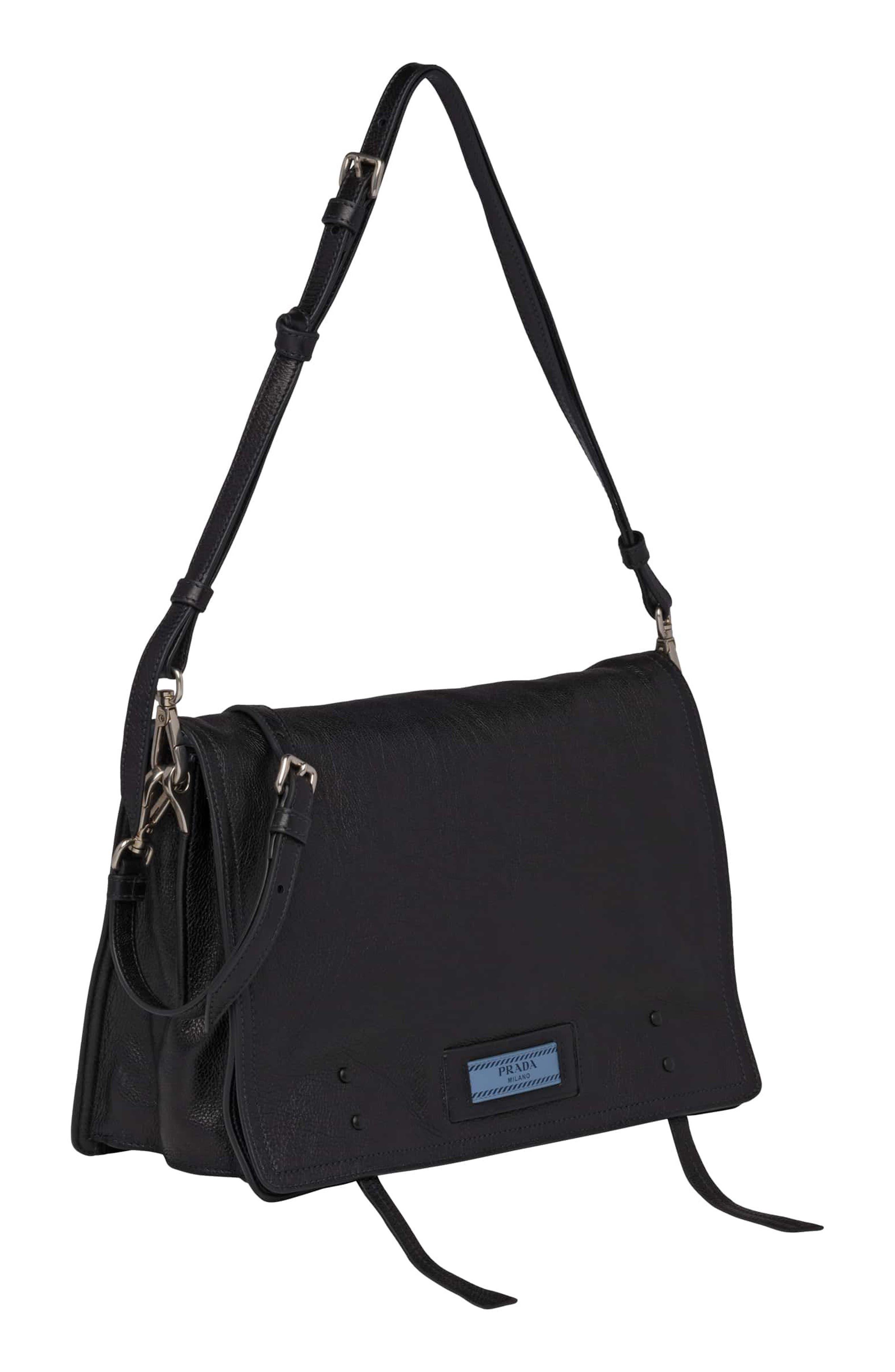 Alternate Image 5  - Prada Cahier Glace Messenger Bag