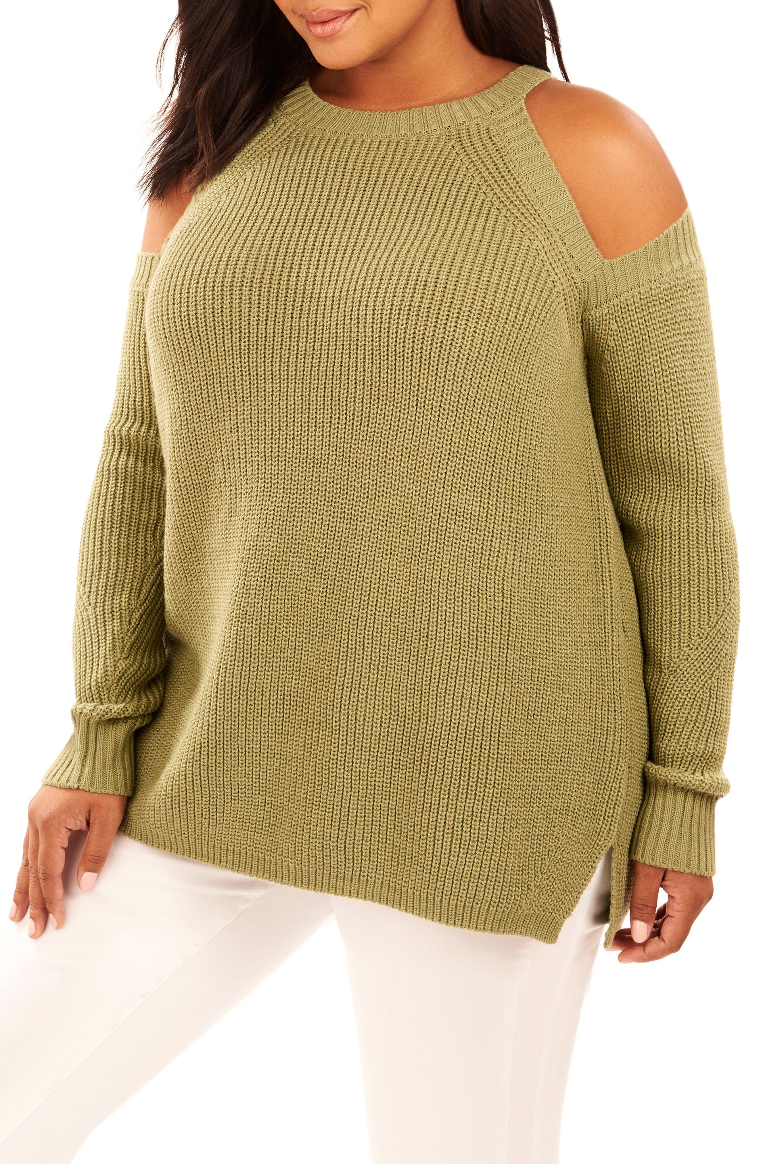 Rebel Wilson x Angels Cold Shoulder Sweater (Plus Size)