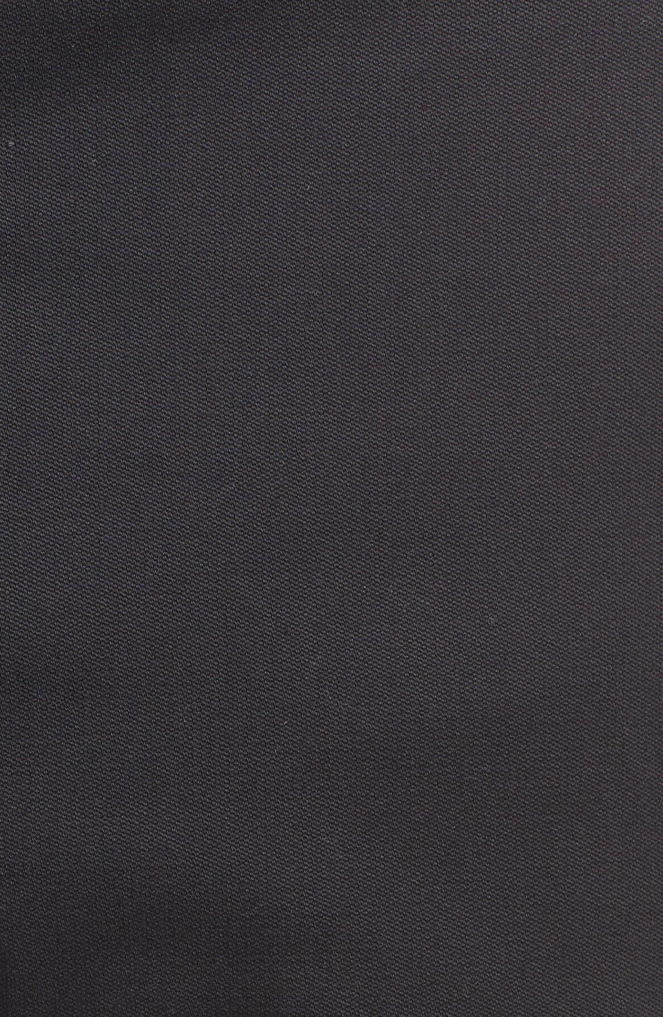 Covert Slim Fit Crop Pants,                             Alternate thumbnail 5, color,                             Black