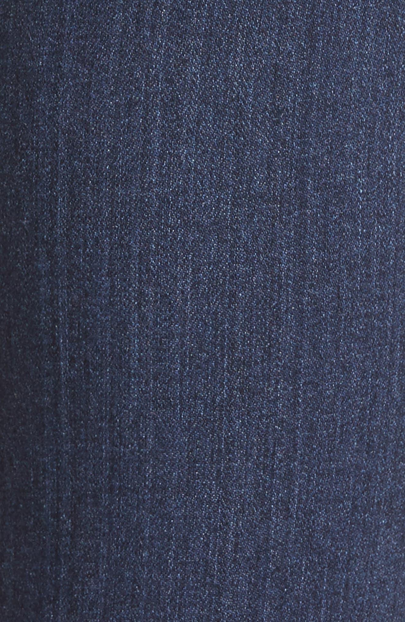 Transcend - Verdugo Ankle Skinny Jeans,                             Alternate thumbnail 5, color,                             Blue