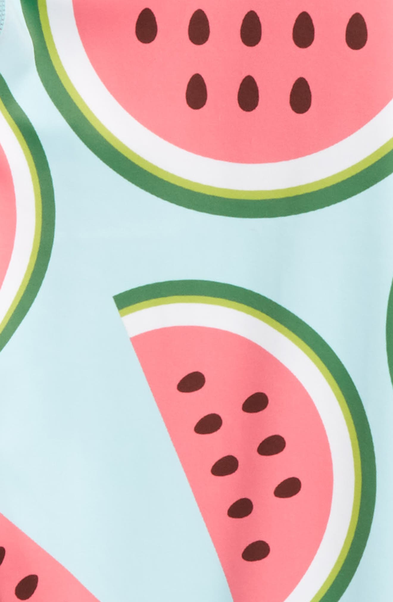 Watermelon Leggings,                             Alternate thumbnail 2, color,                             Aqua