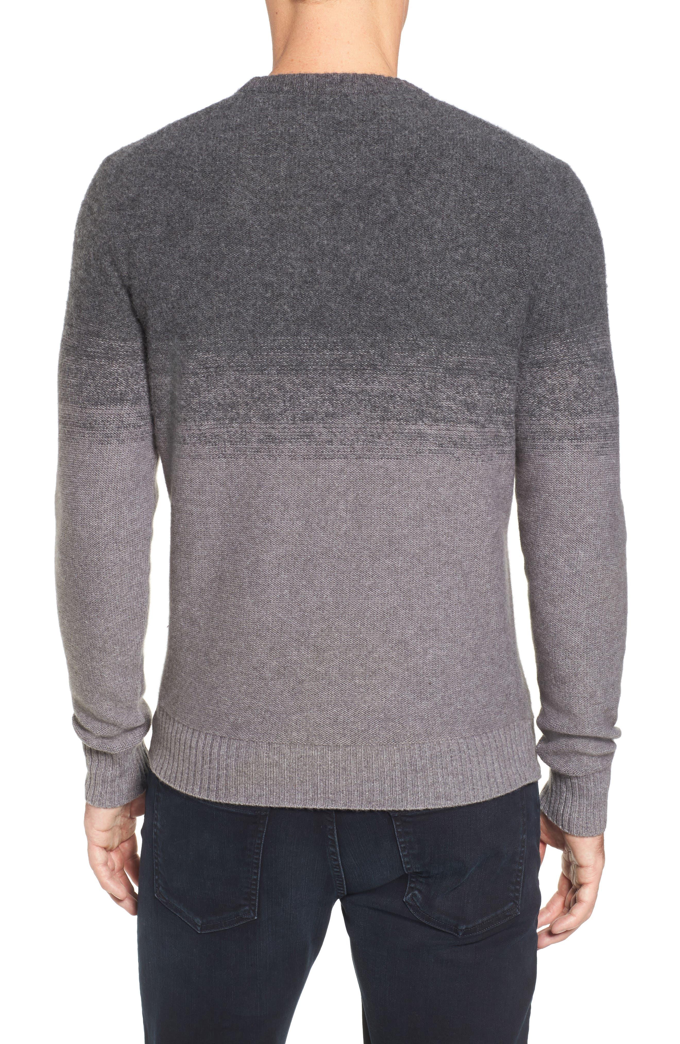 Alternate Image 2  - Monte Rosse Ombré Cashmere Sweater