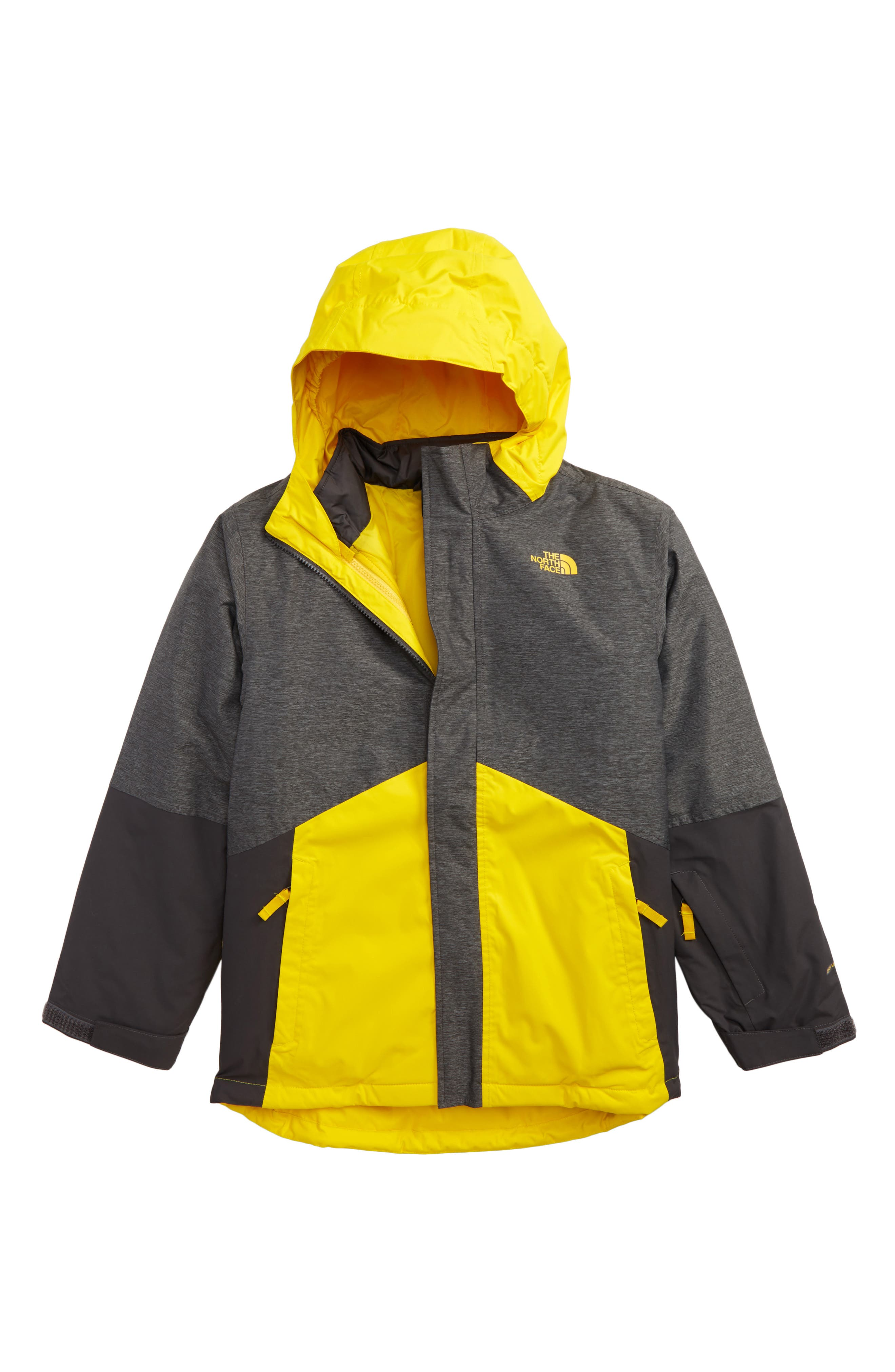Boundary TriClimate<sup>®</sup> 3-in-1 Jacket,                         Main,                         color, Tnf Medium Grey Heather