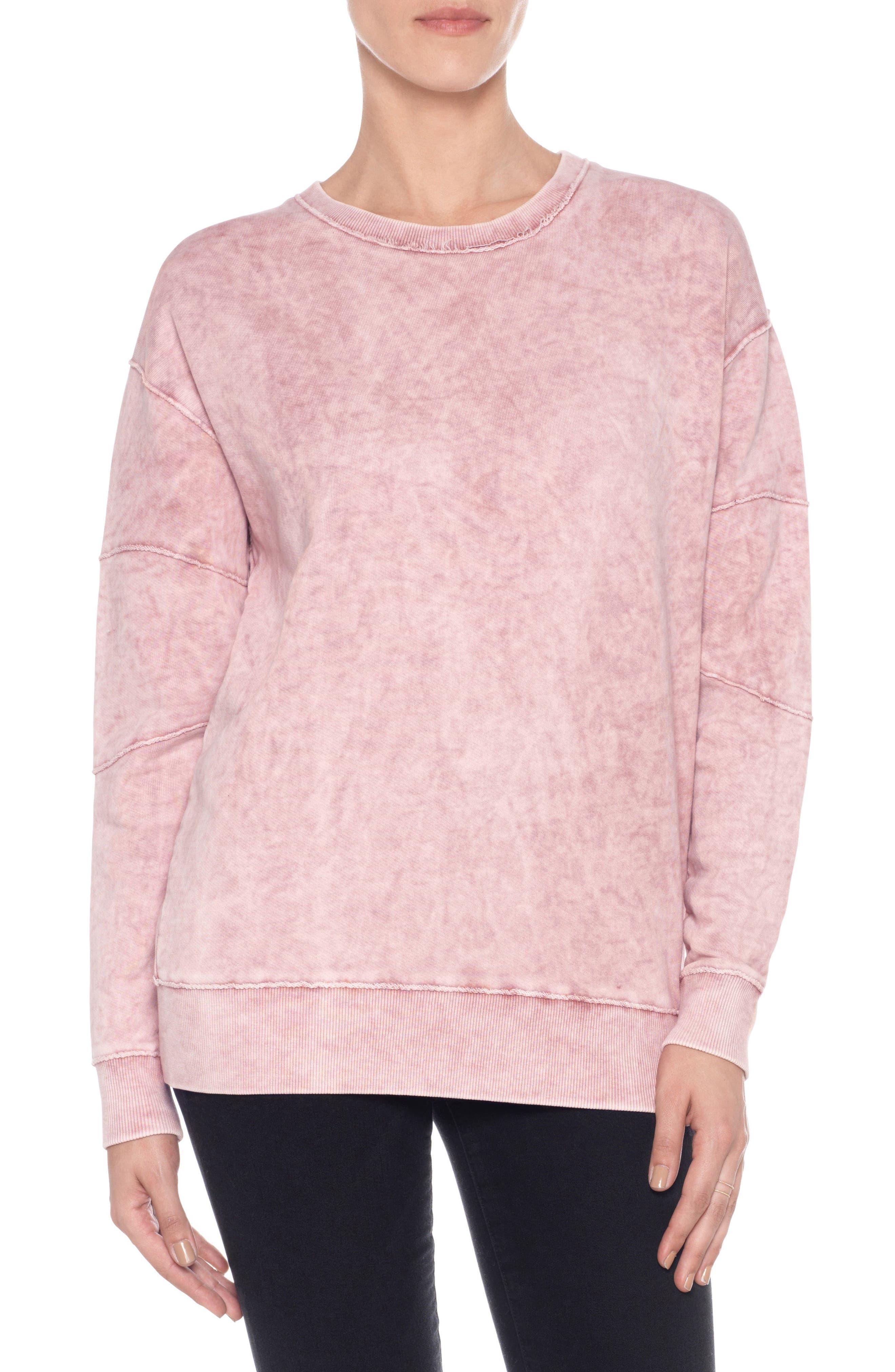 Kendall Sweatshirt,                         Main,                         color, Wood Rose
