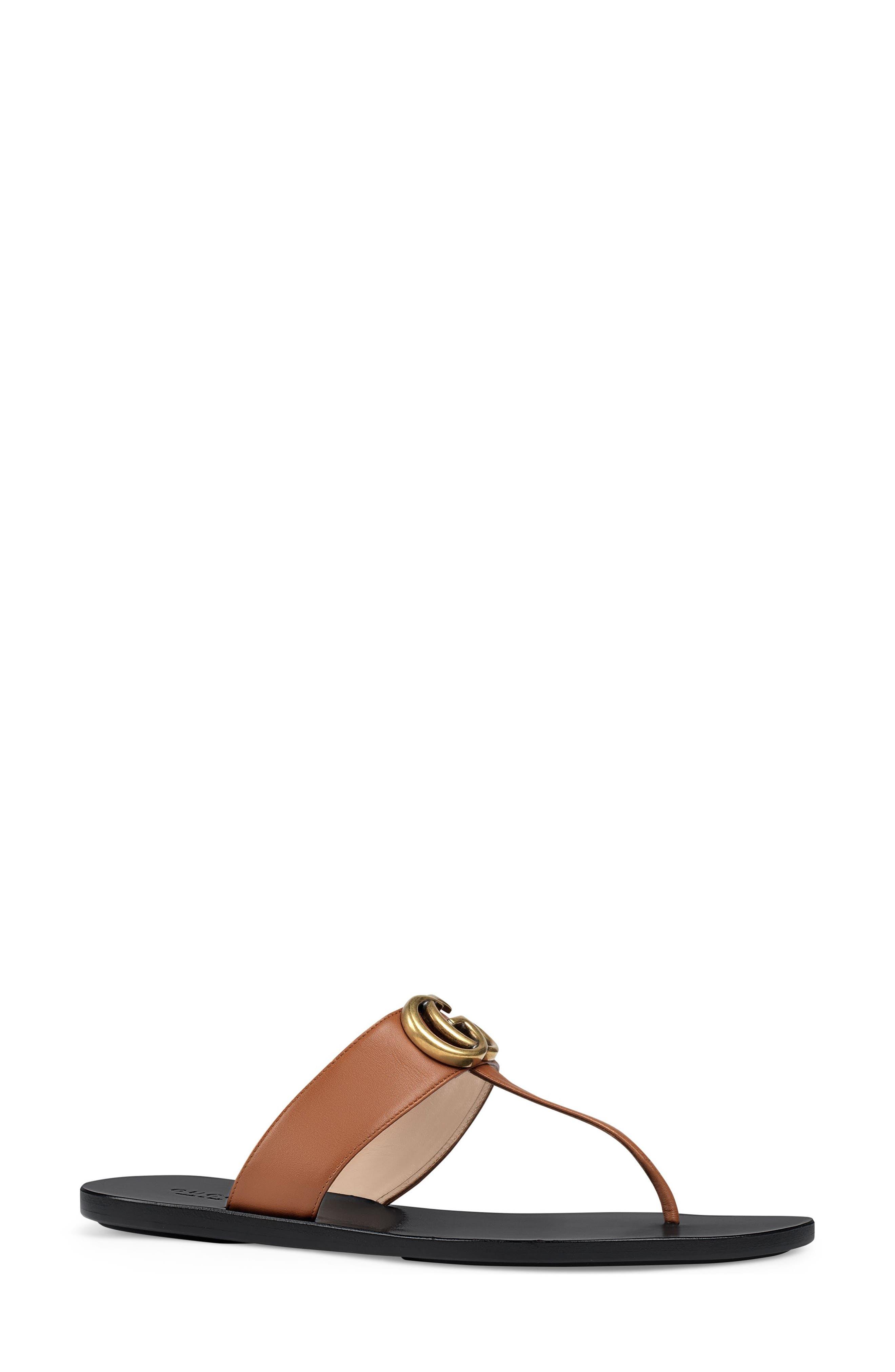 Gucci Marmont T-Strap Sandal (Women)