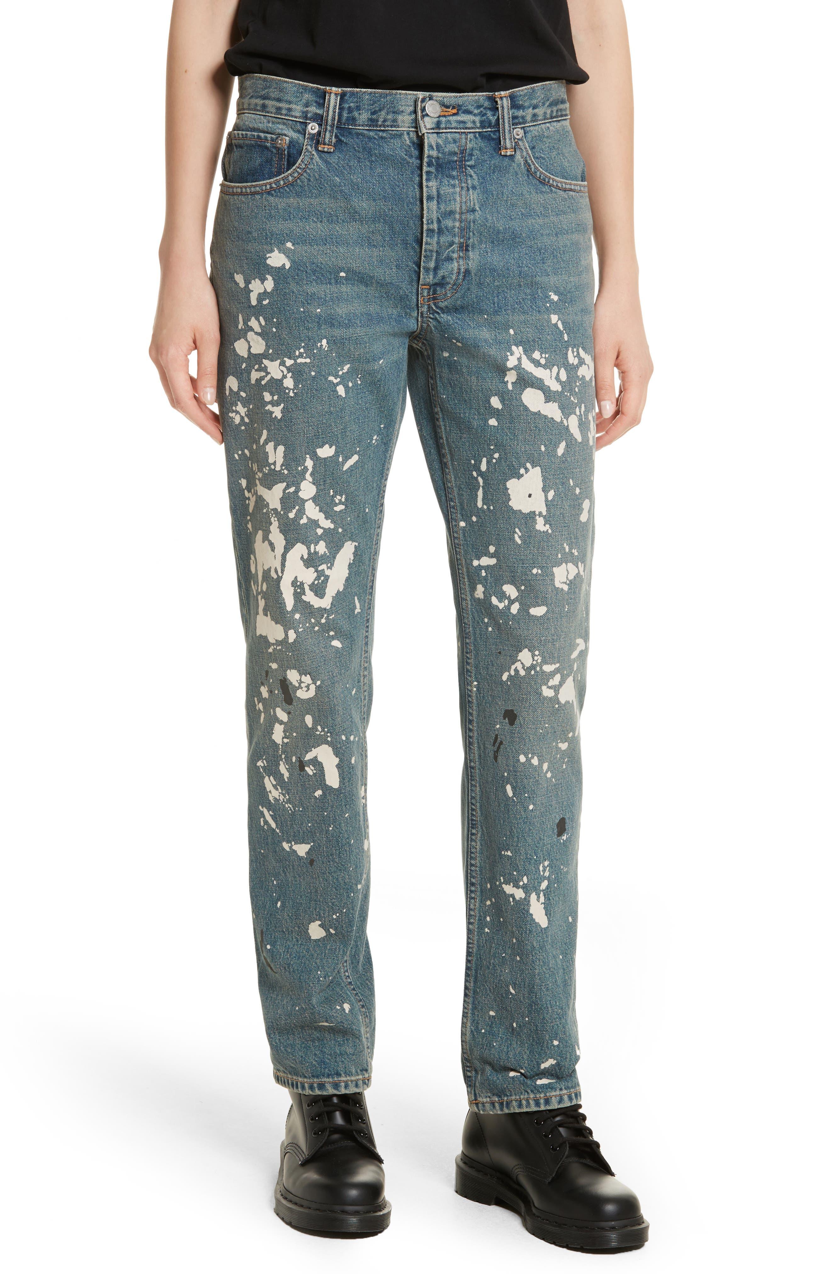 Re-Edition Painter Jeans,                         Main,                         color, Paint Splatter
