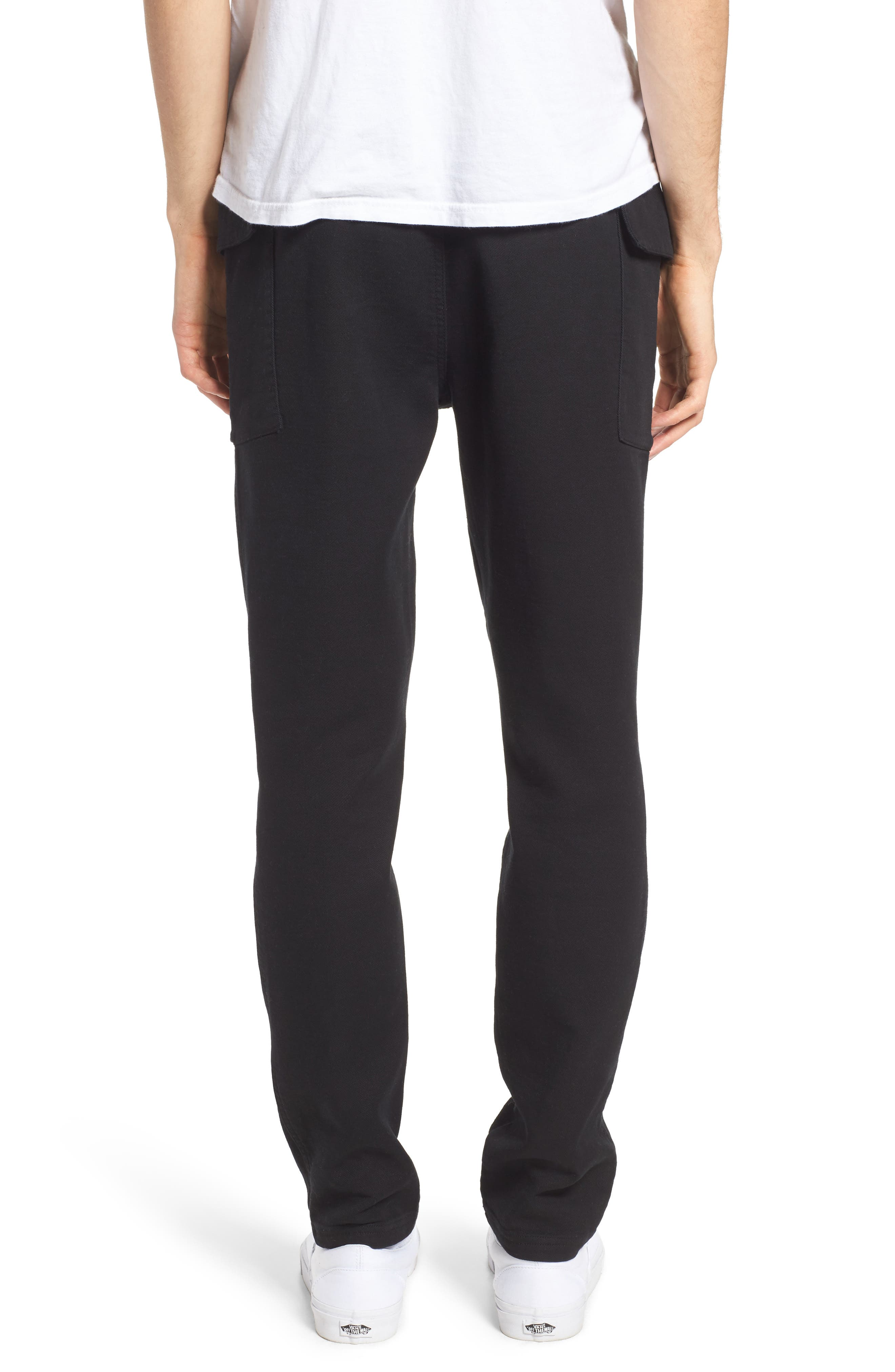 Shay Cargo Pants,                             Alternate thumbnail 2, color,                             Black