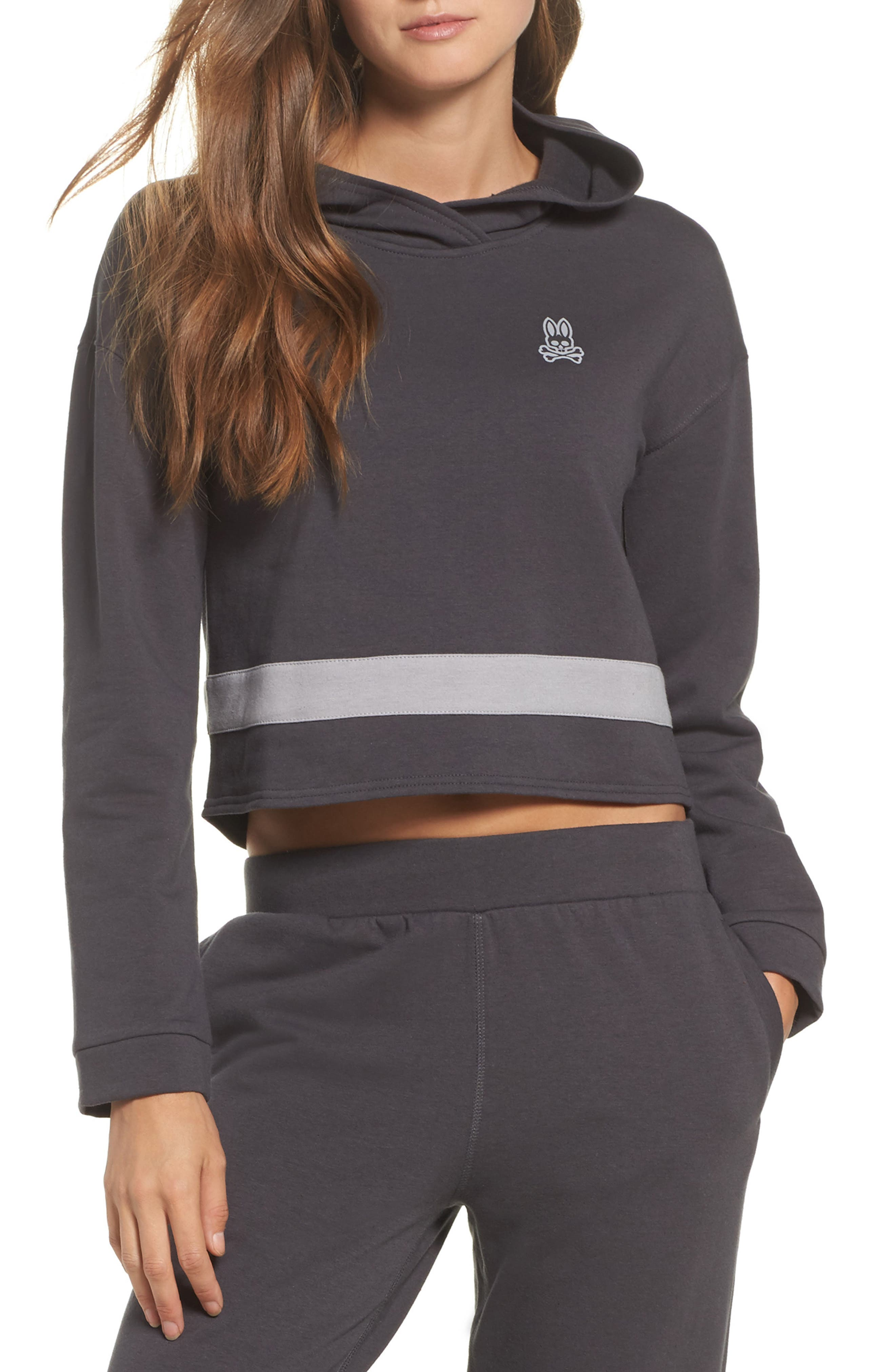 Comfy Lounge Hoodie,                             Main thumbnail 1, color,                             Forged Iron