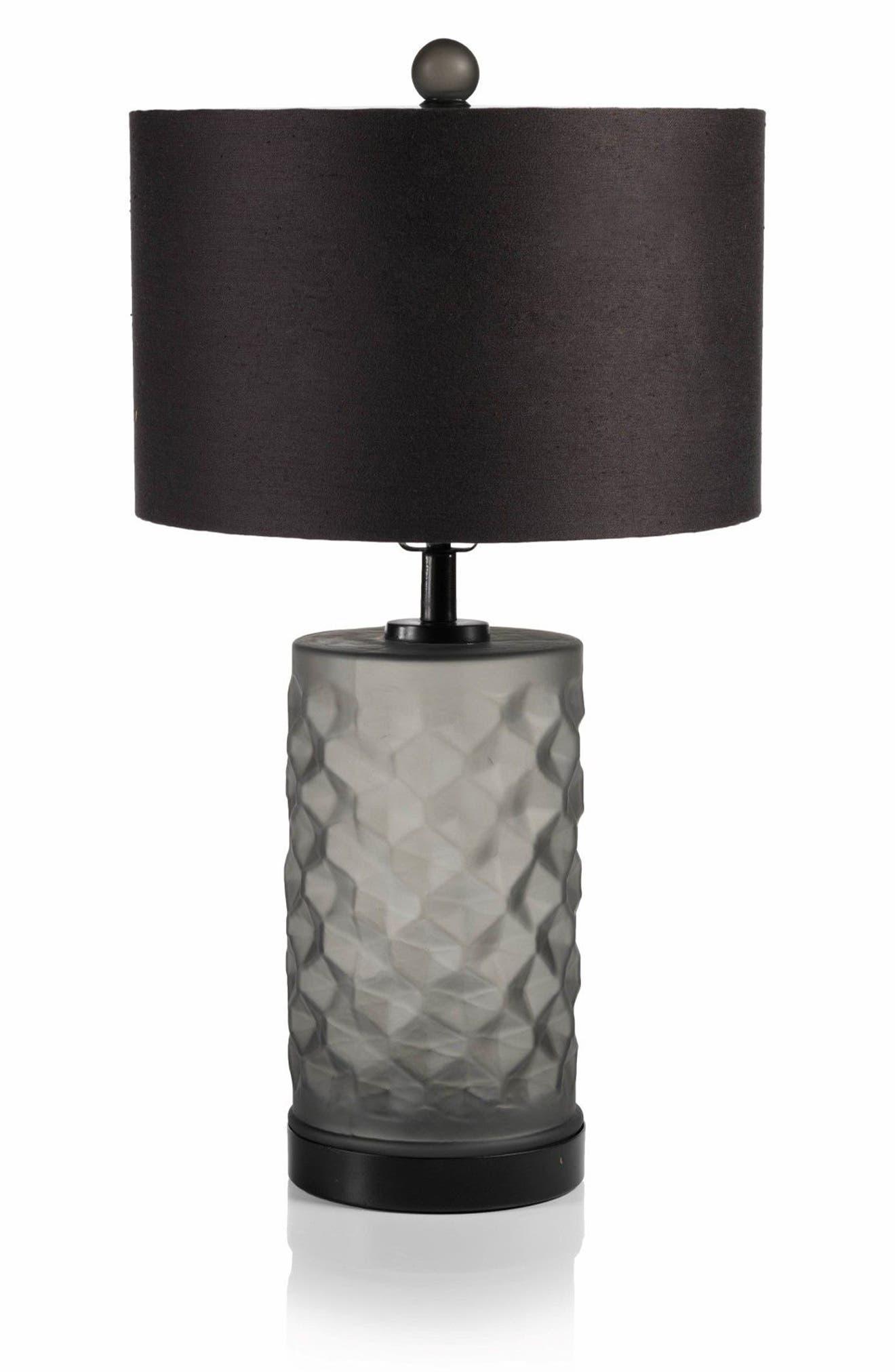 Rocco Table Lamp,                         Main,                         color, Black/ Grey