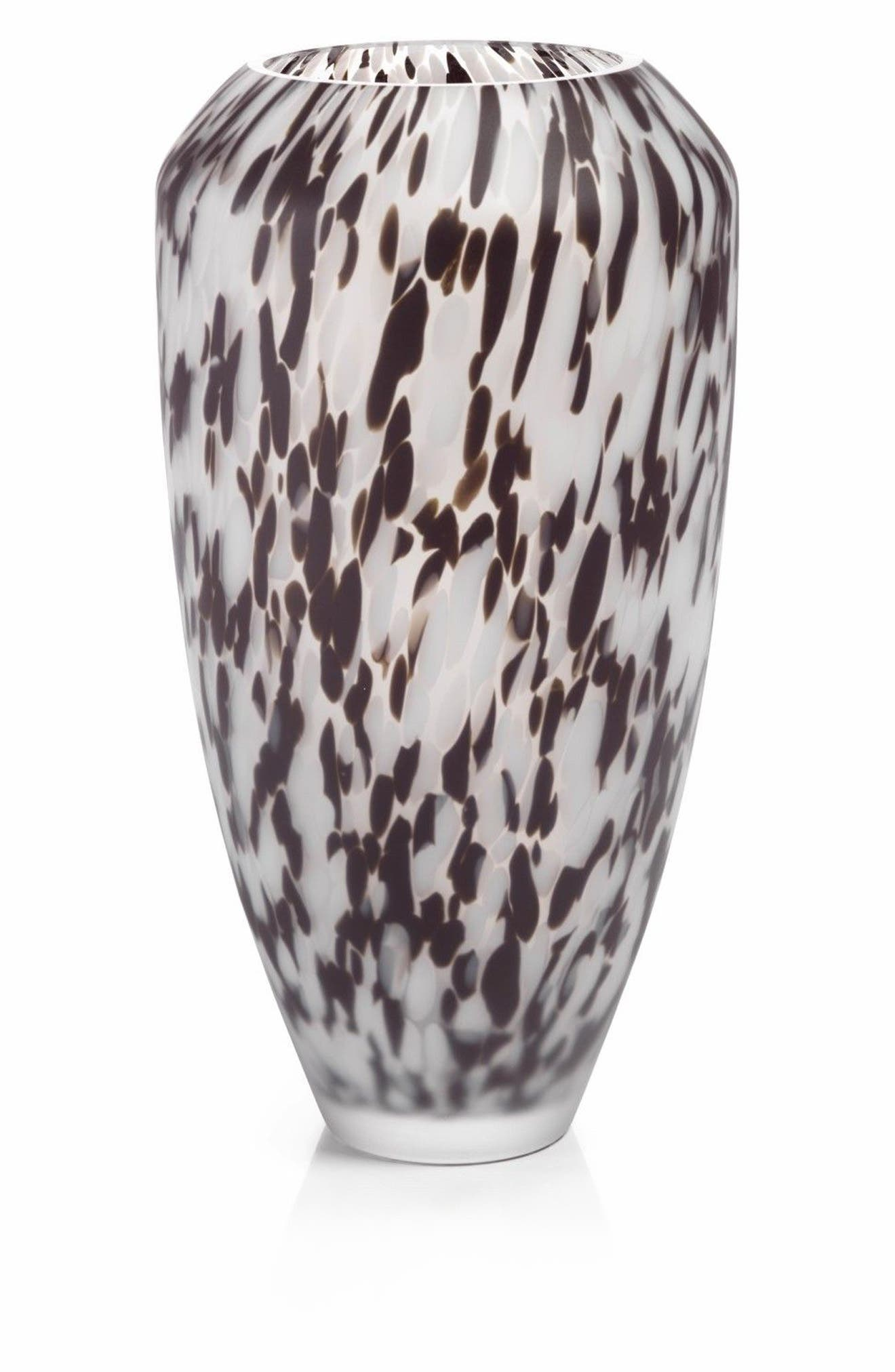 Alternate Image 1 Selected - Zodax Large Confetti Glass Vase