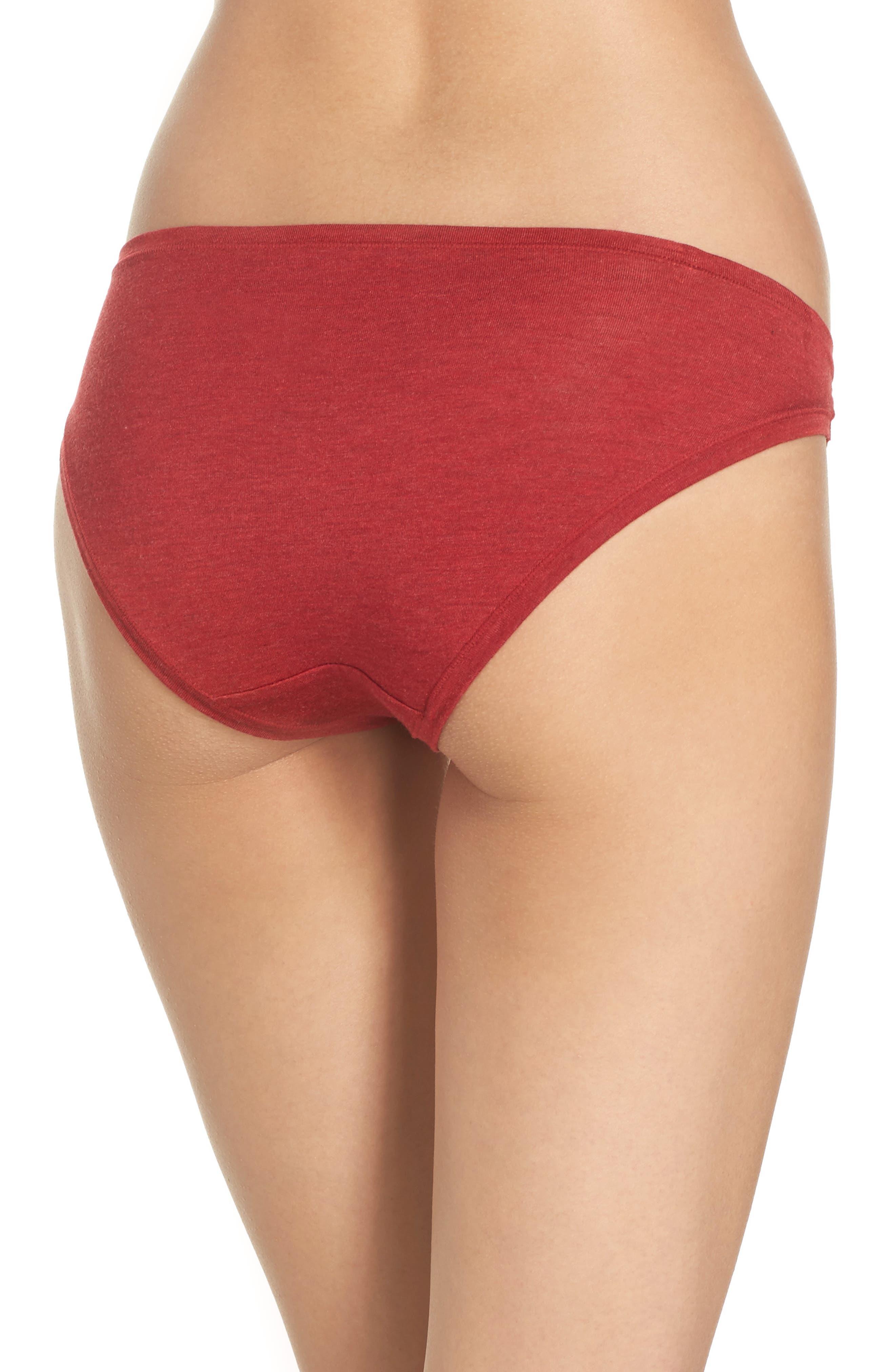 Alternate Image 2  - Natori Bliss Essence Bikini (3 for $45)