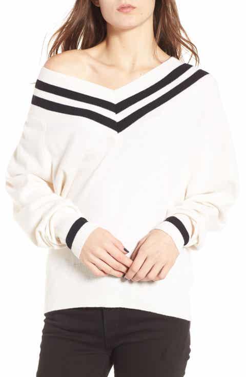 KENDALL + KYLIE Stripe Sweater